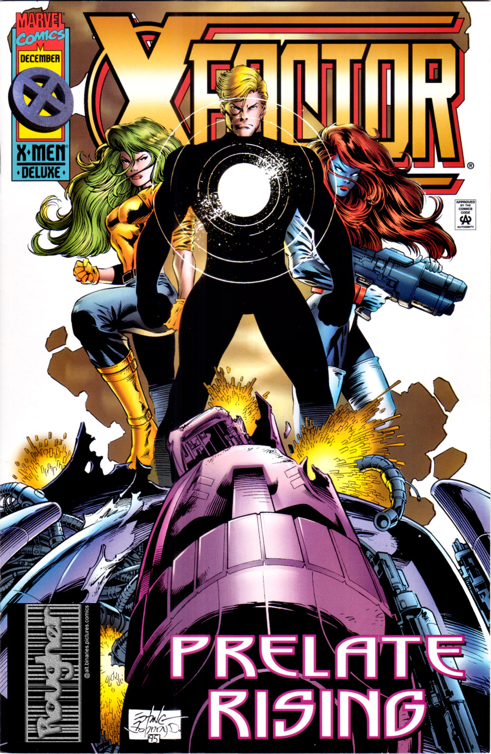 Read online X-Factor (1986) comic -  Issue #117 - 1