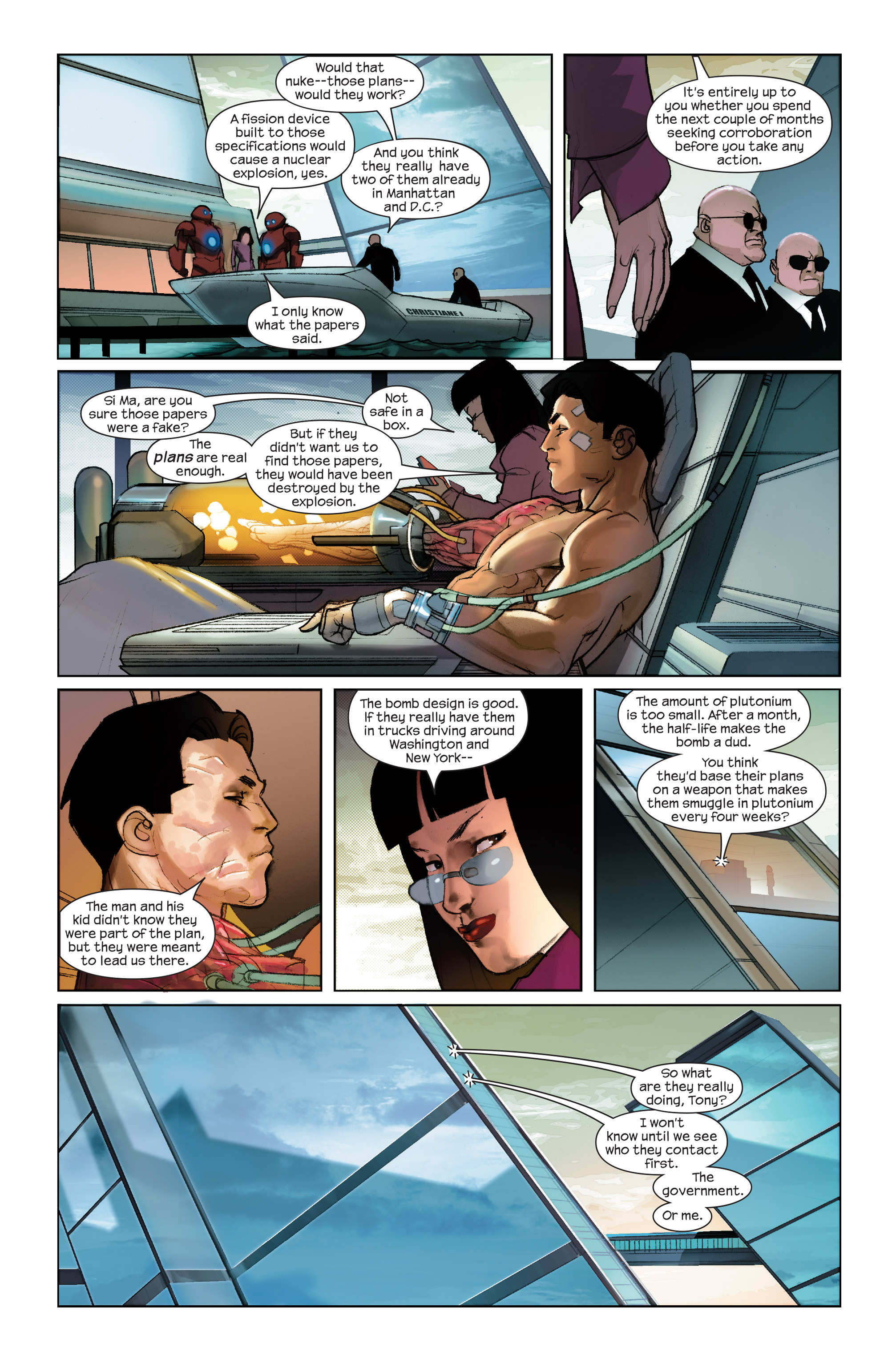 Read online Ultimate Iron Man II comic -  Issue #2 - 11
