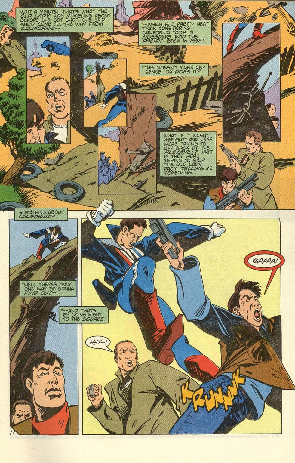Read online American Flagg! comic -  Issue #39 - 21