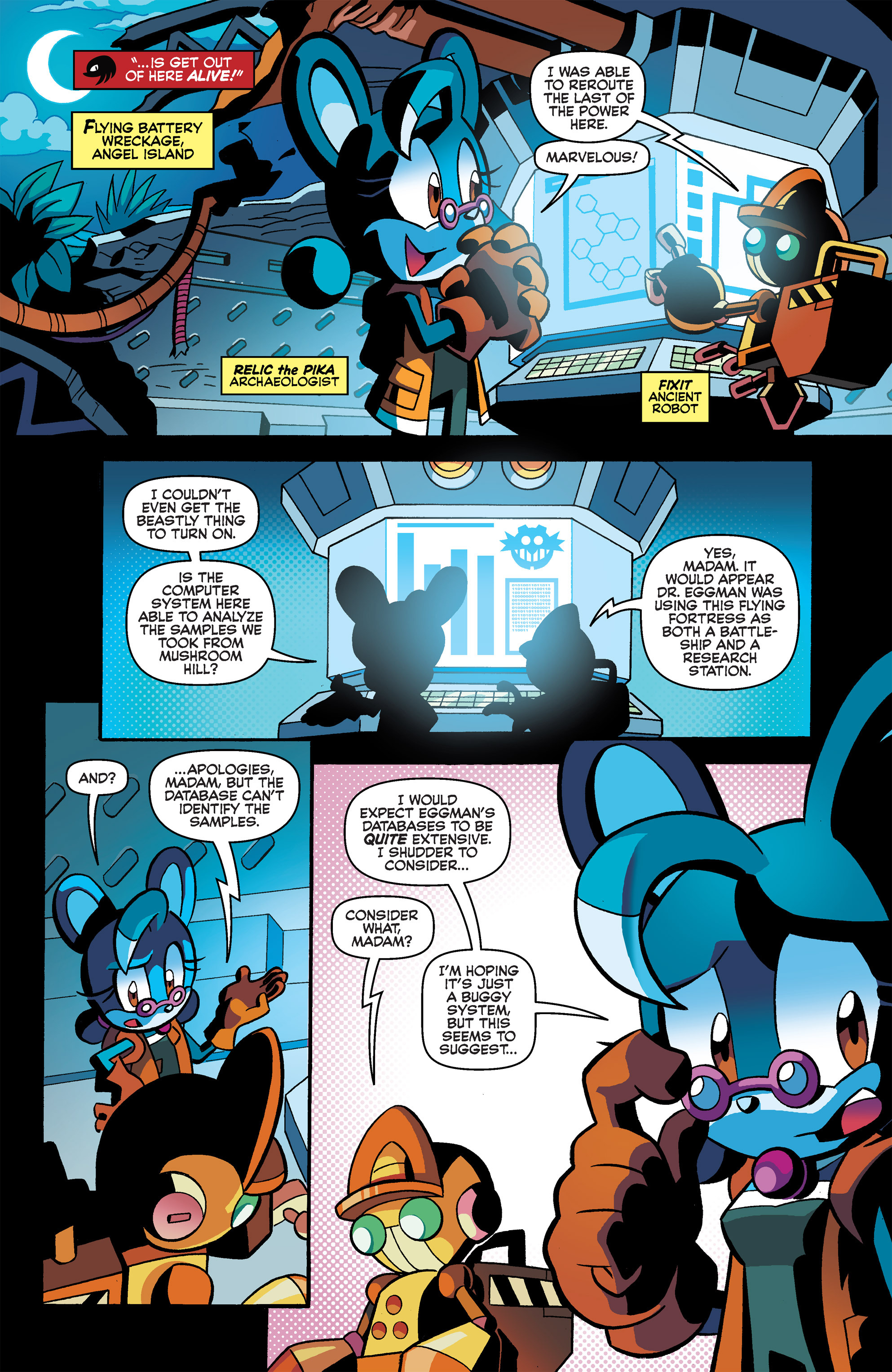 Read online Sonic Universe comic -  Issue #66 - 12