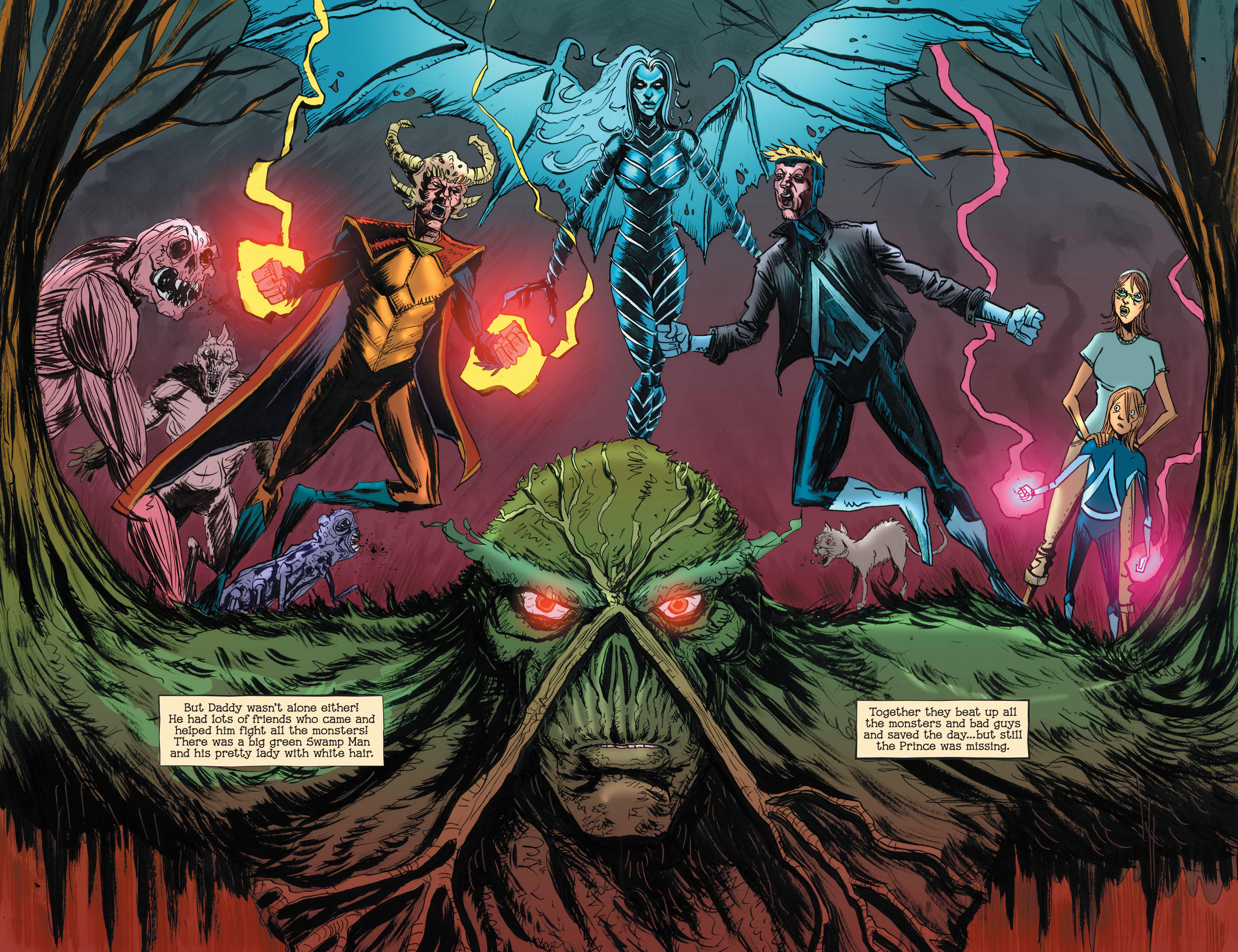 Read online Animal Man (2011) comic -  Issue #29 - 13