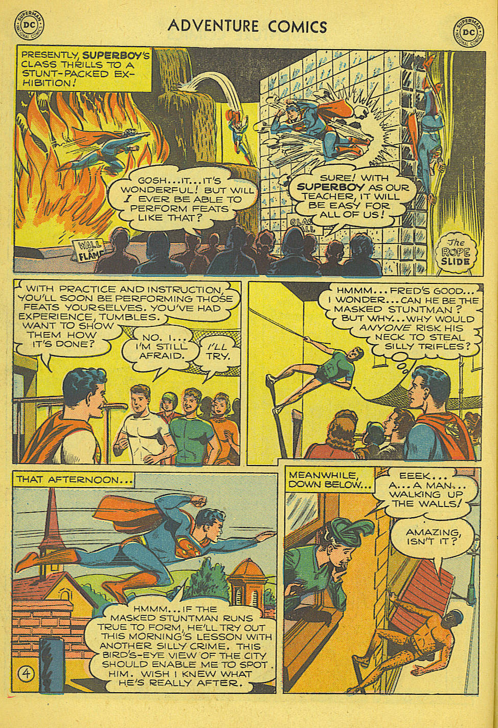 Read online Adventure Comics (1938) comic -  Issue #165 - 5