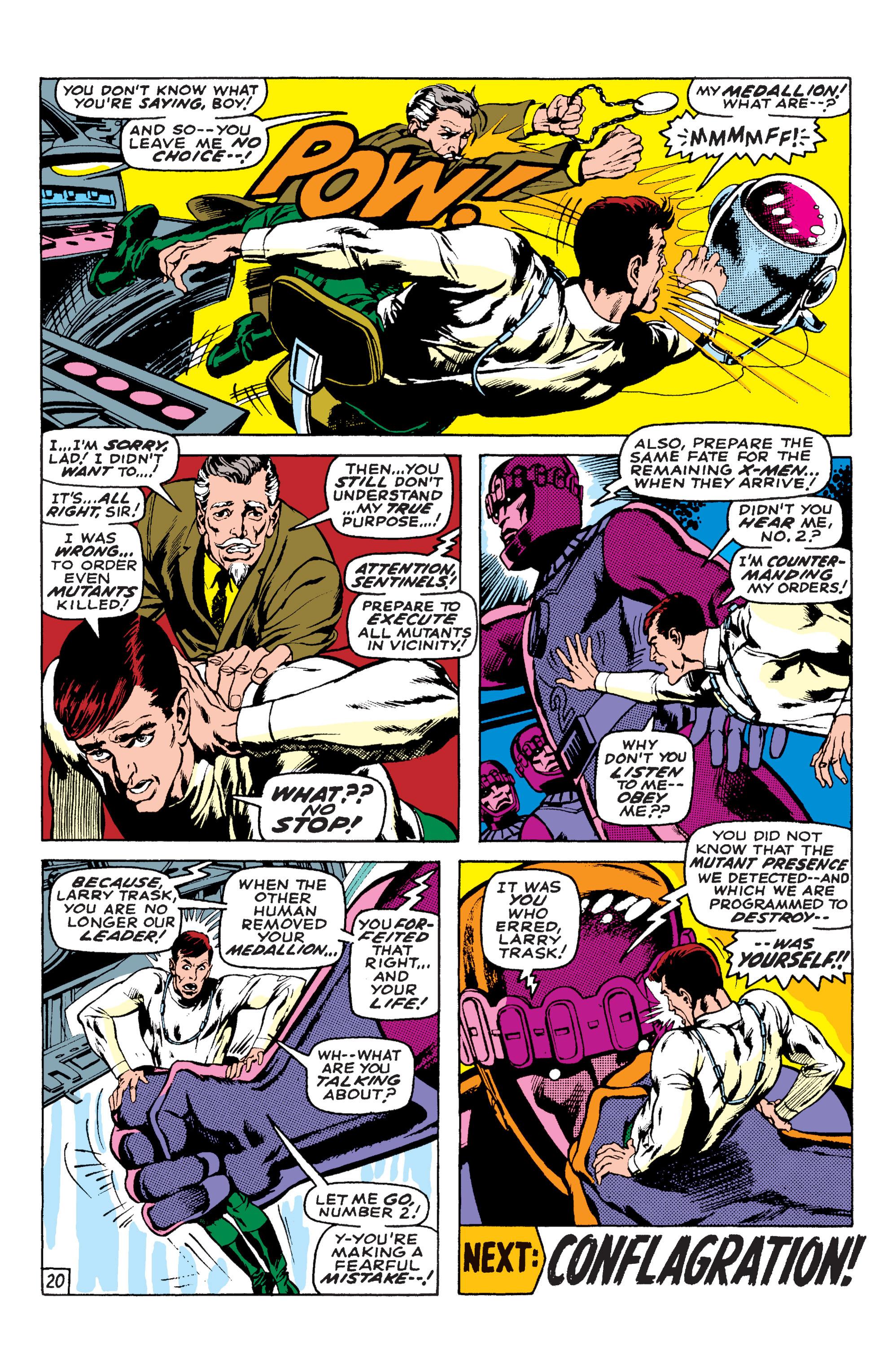 Read online Uncanny X-Men (1963) comic -  Issue #58 - 20