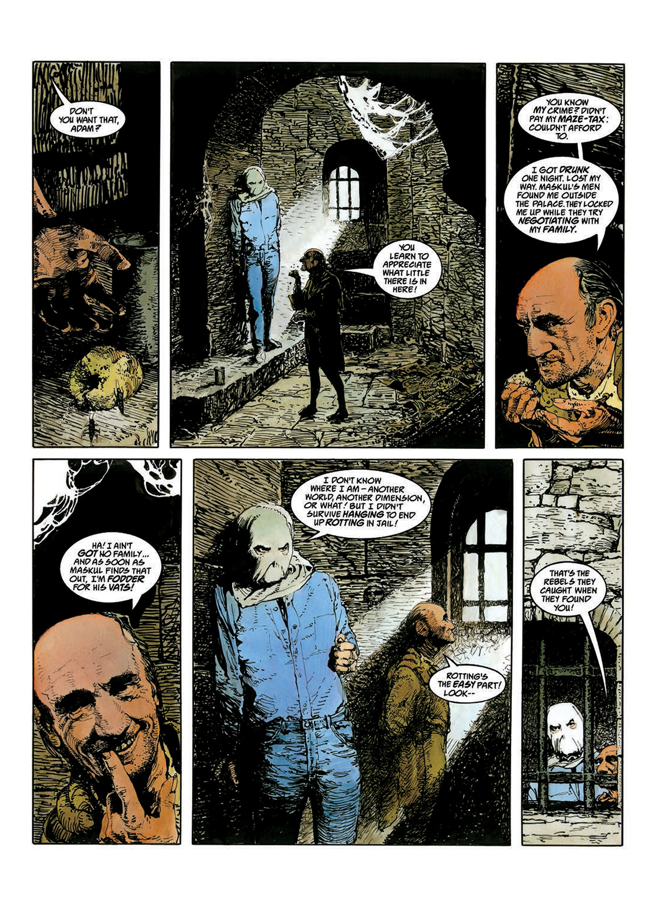 Read online Mazeworld comic -  Issue # TPB - 30