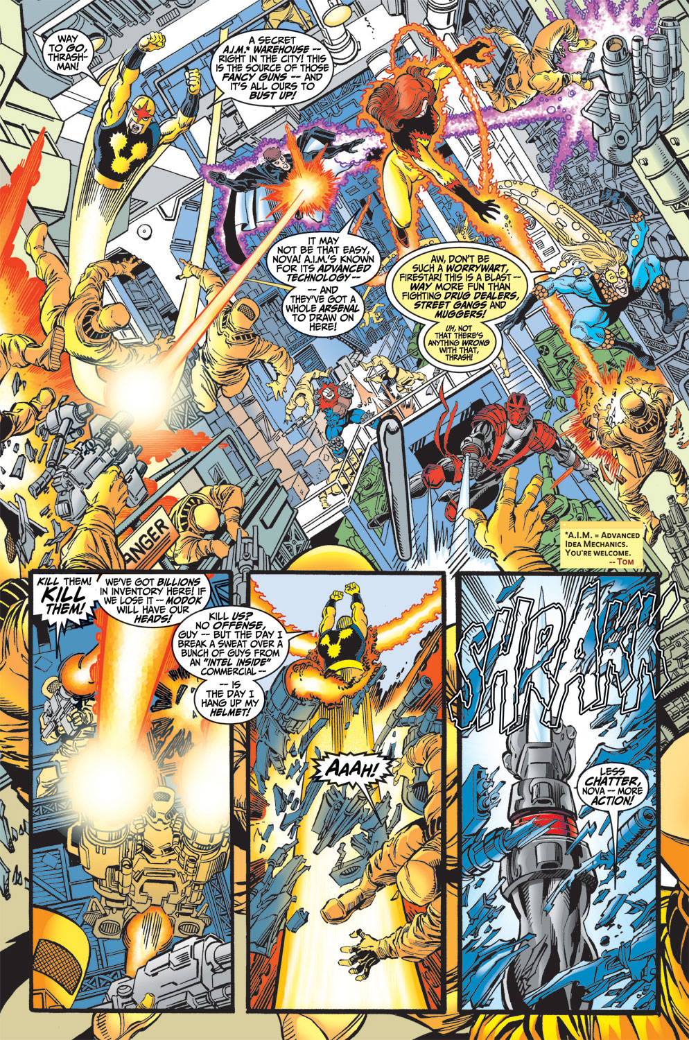 Read online Avengers (1998) comic -  Issue #13 - 10