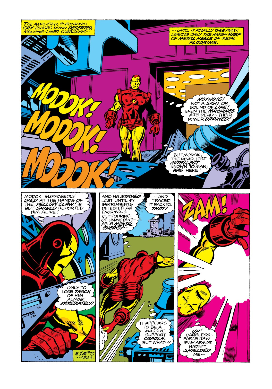 Read online Marvel Masterworks: The Invincible Iron Man comic -  Issue # TPB 11 (Part 3) - 87