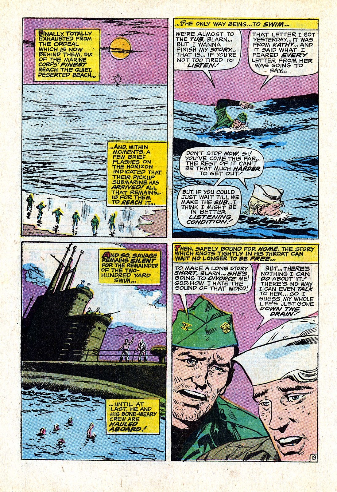 Captain Savage and his Leatherneck Raiders issue 18 - Page 28