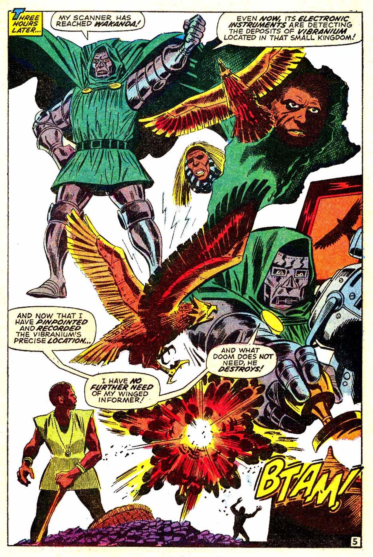 Read online Astonishing Tales (1970) comic -  Issue #6 - 6