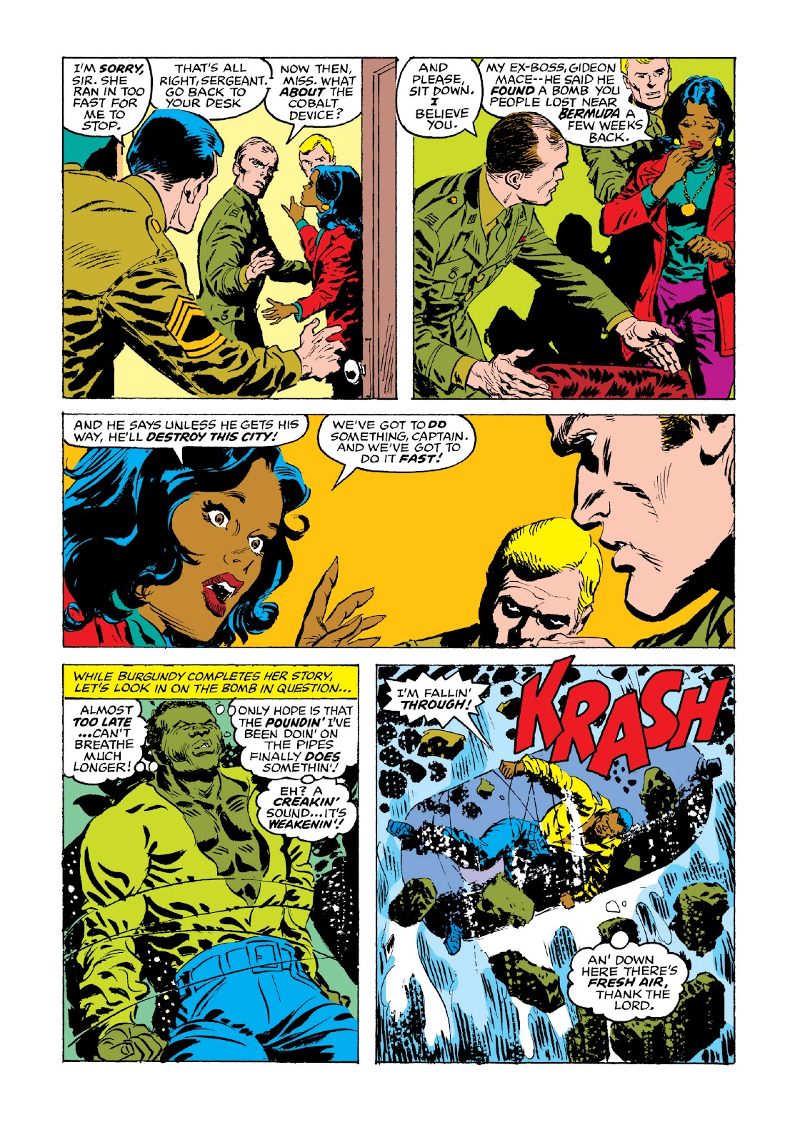 Read online Marvel Masterworks: Luke Cage, Power Man comic -  Issue # TPB 3 (Part 3) - 68