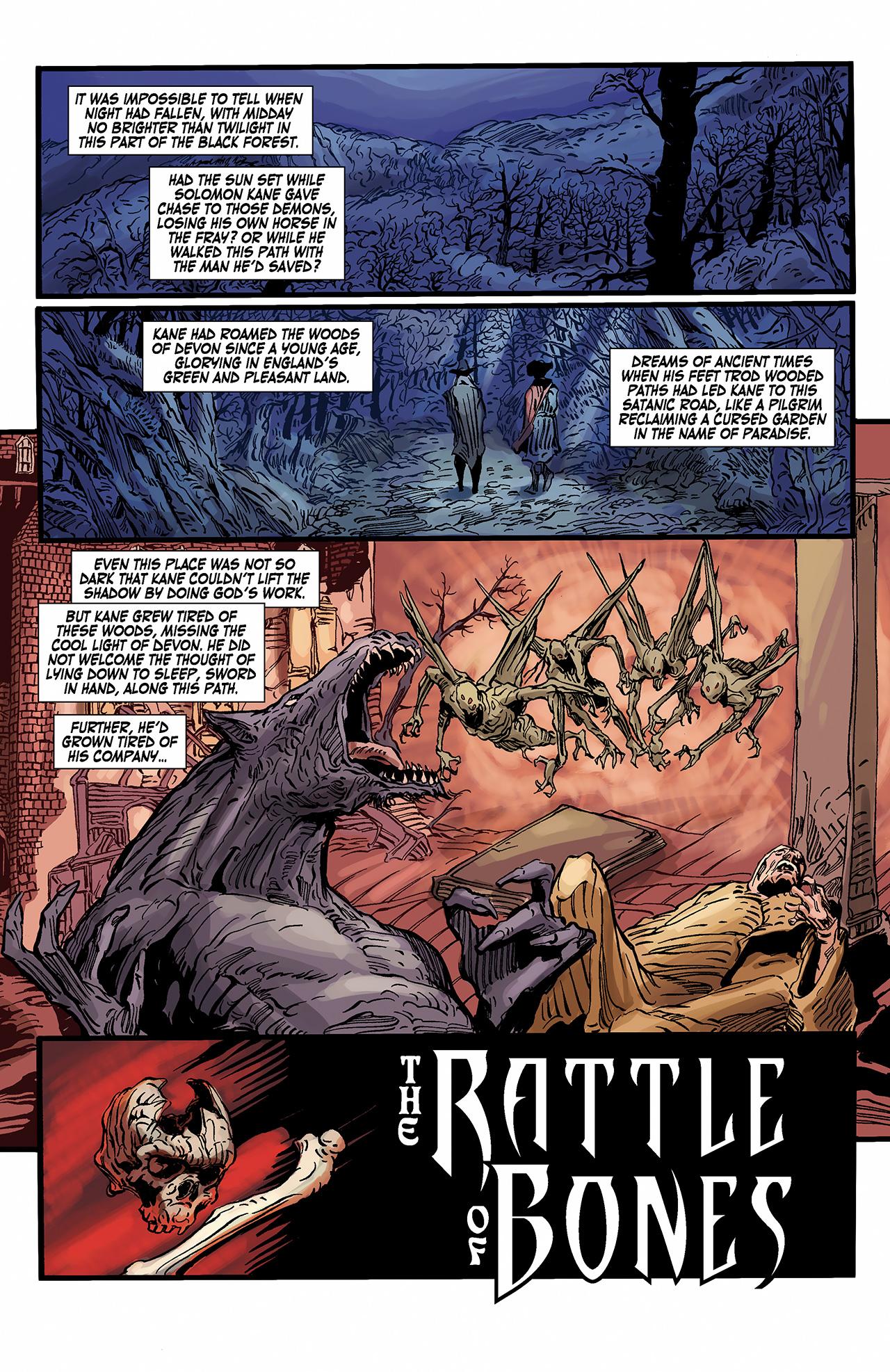 Read online Solomon Kane: Death's Black Riders comic -  Issue #2 - 3