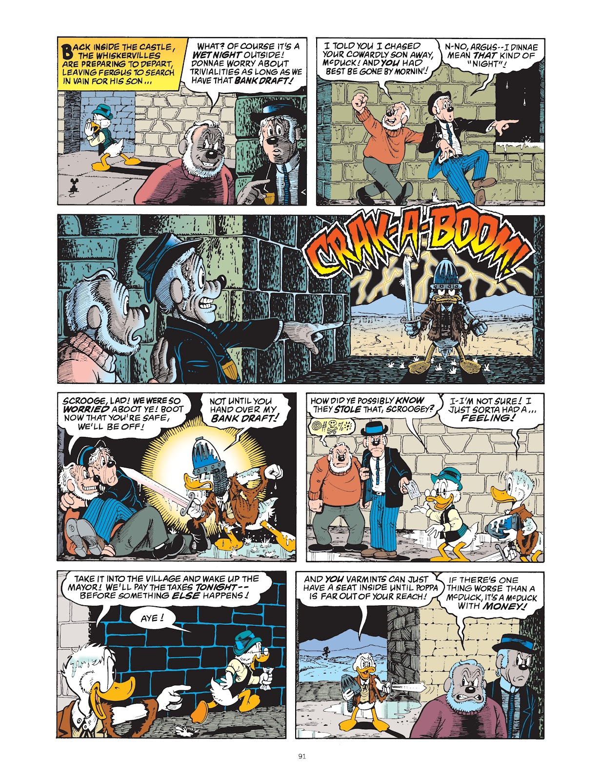 Read online The Complete Life and Times of Scrooge McDuck comic -  Issue # TPB 1 (Part 1) - 94