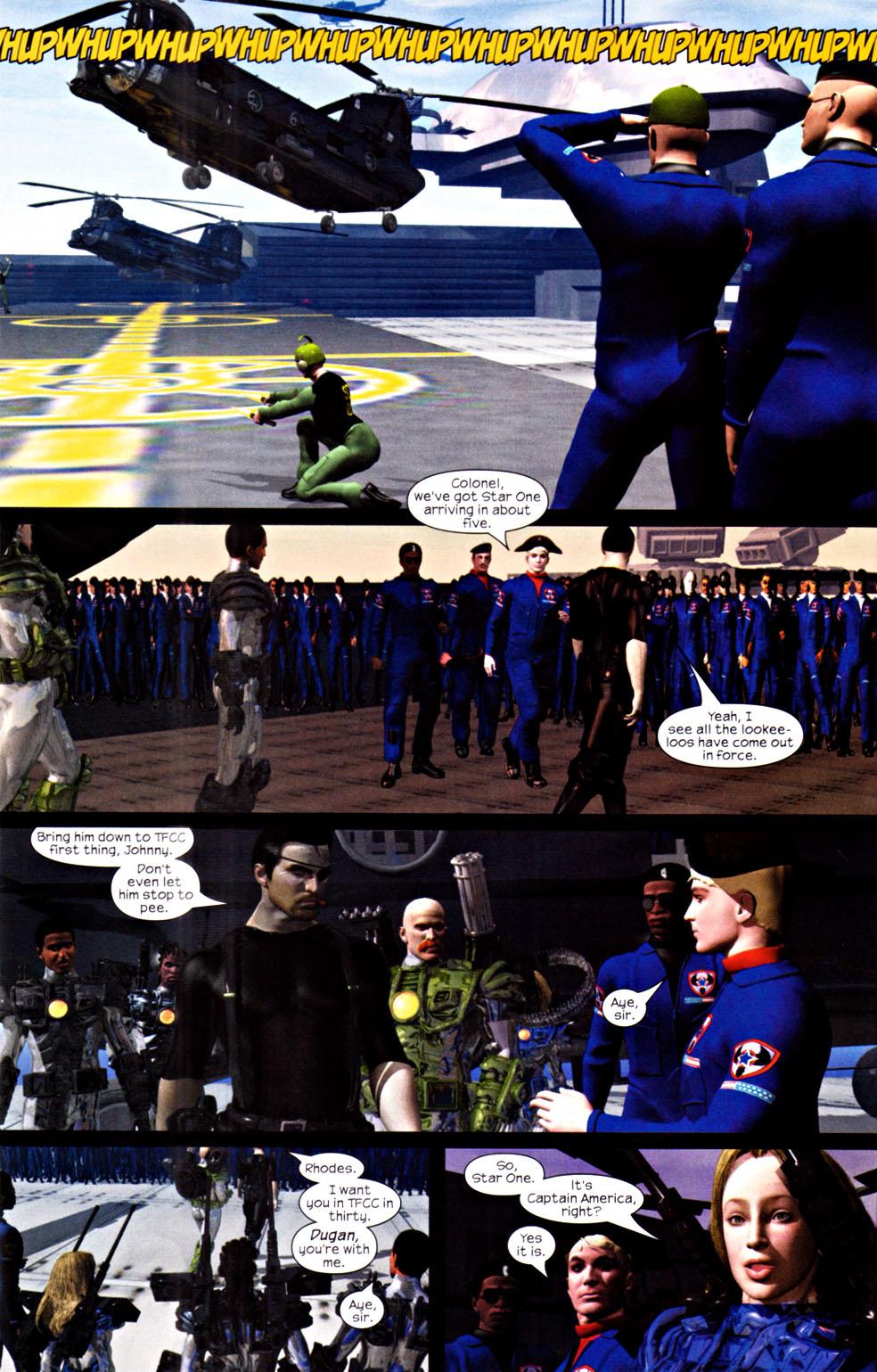 Read online U.S. War Machine 2.0 comic -  Issue #2 - 5