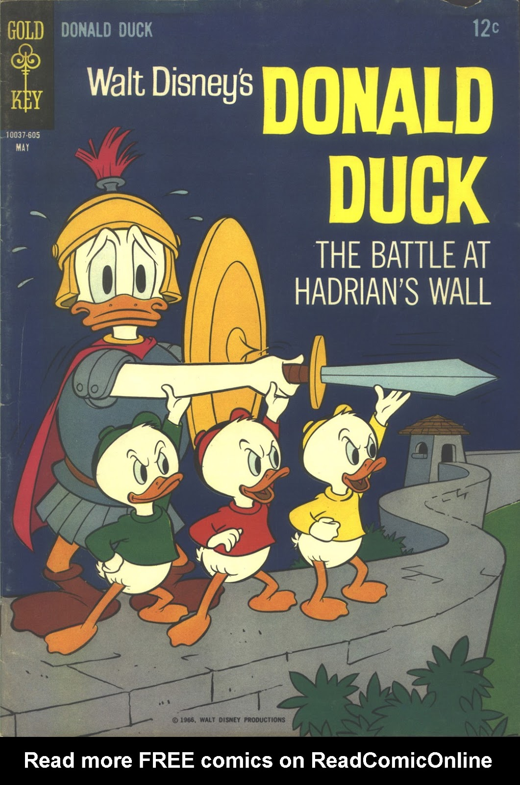 Walt Disney's Donald Duck (1952) issue 107 - Page 1