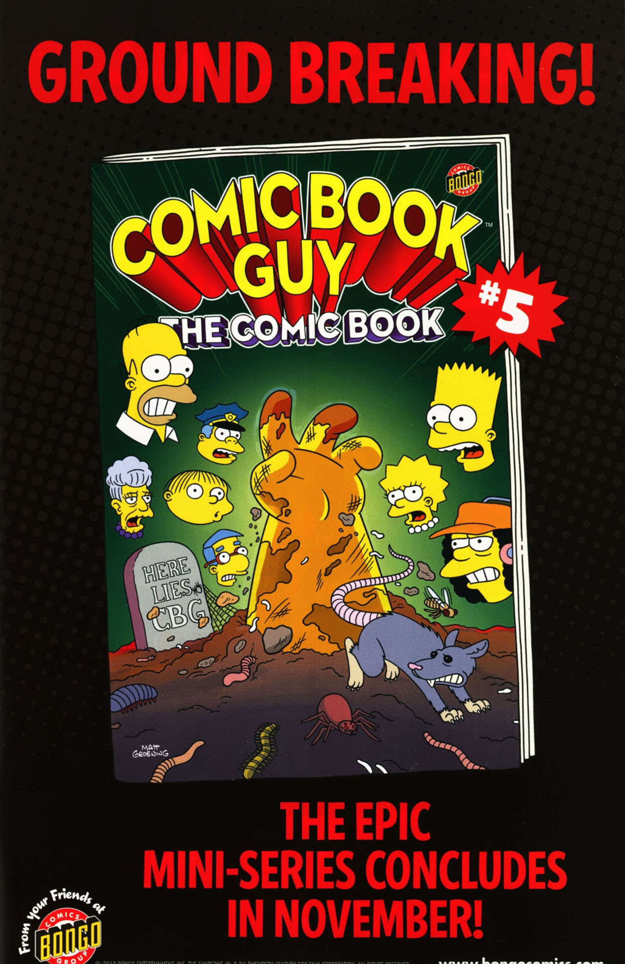 Read online Bongo Comics presents Comic Book Guy: The Comic Book comic -  Issue #4 - 33