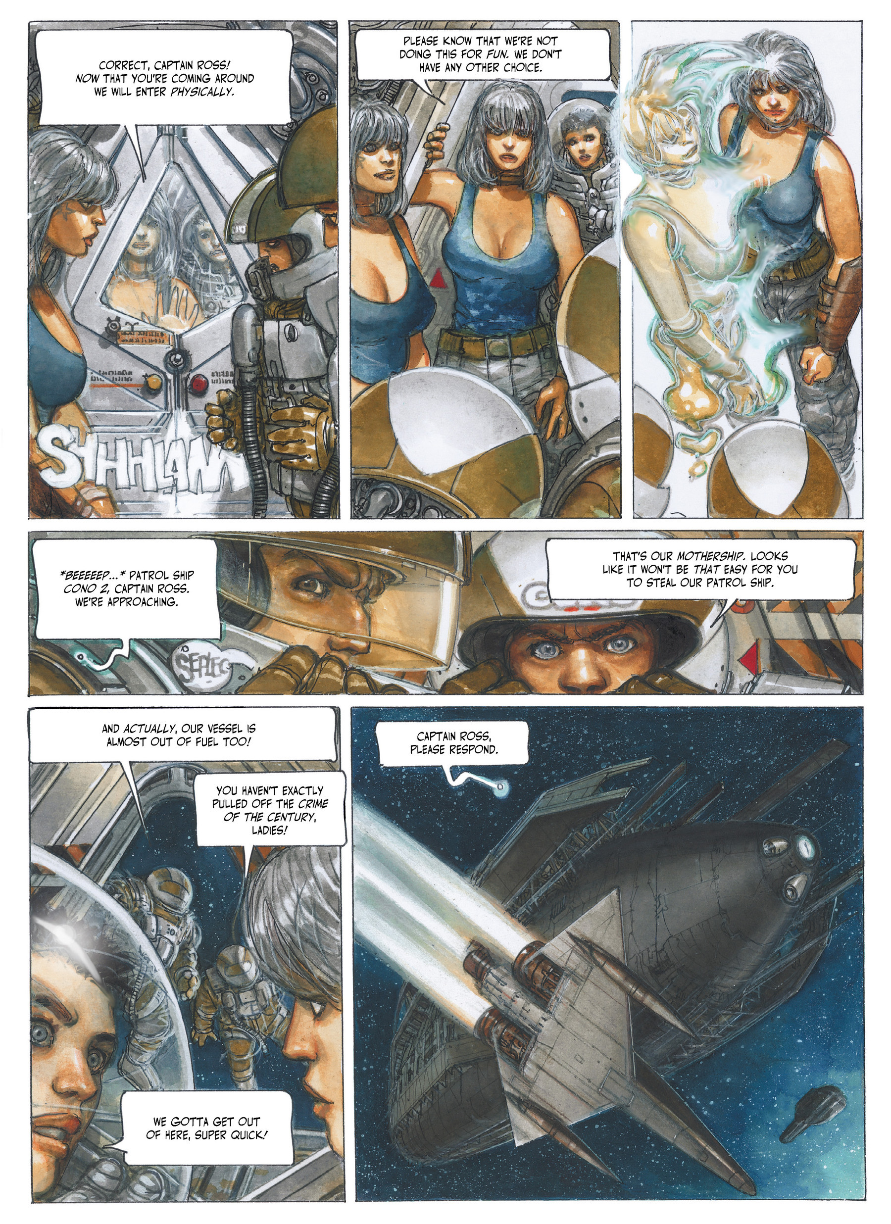 Read online The Fourth Power comic -  Issue #3 - 20