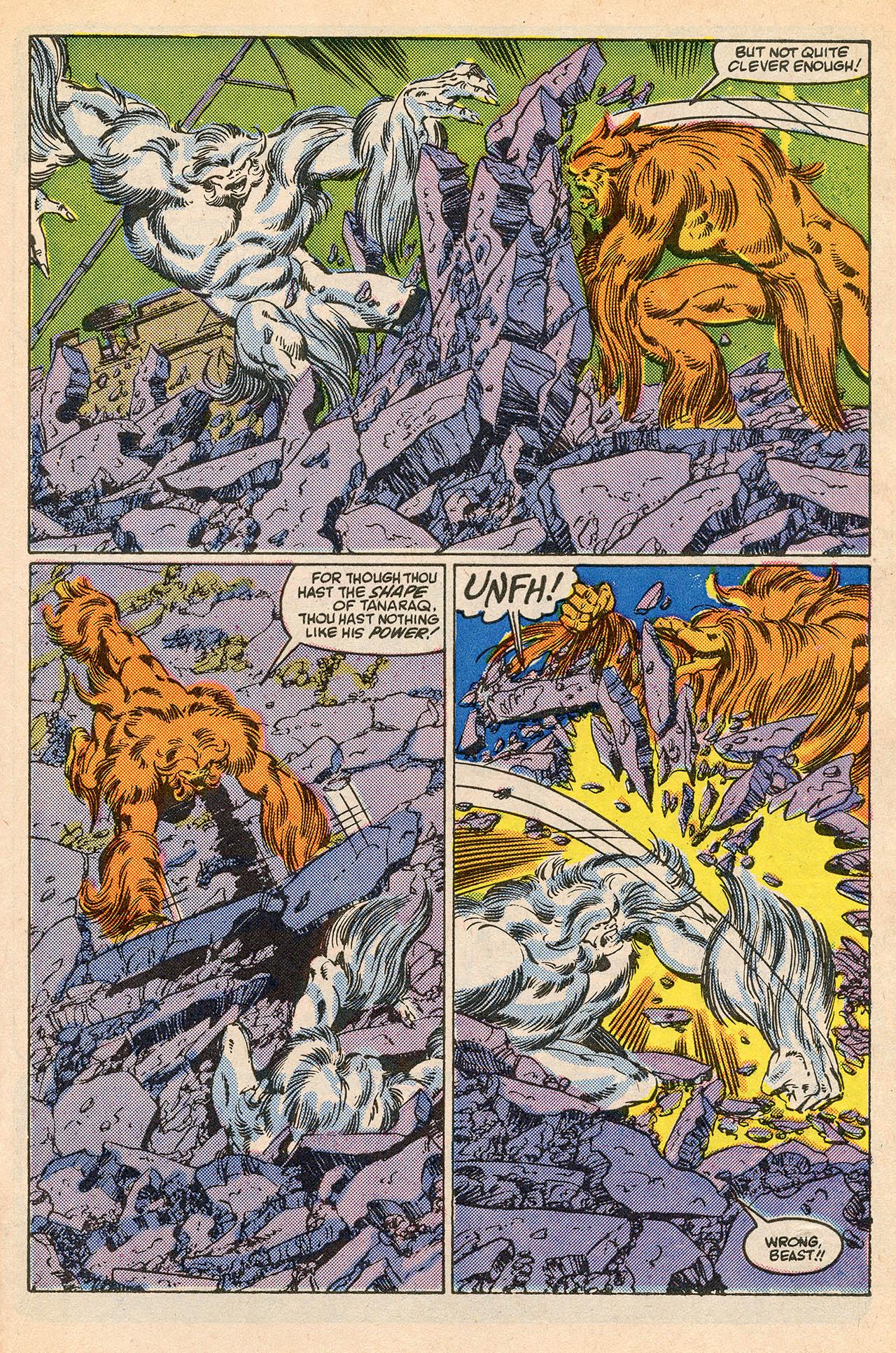 Read online Alpha Flight (1983) comic -  Issue #23 - 27
