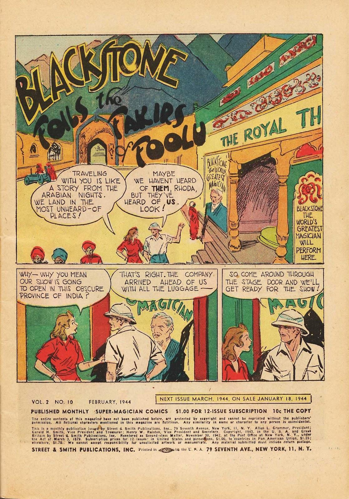 Super-Magician Comics issue 22 - Page 3
