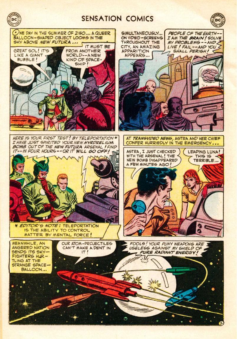 Read online Sensation (Mystery) Comics comic -  Issue #106 - 26