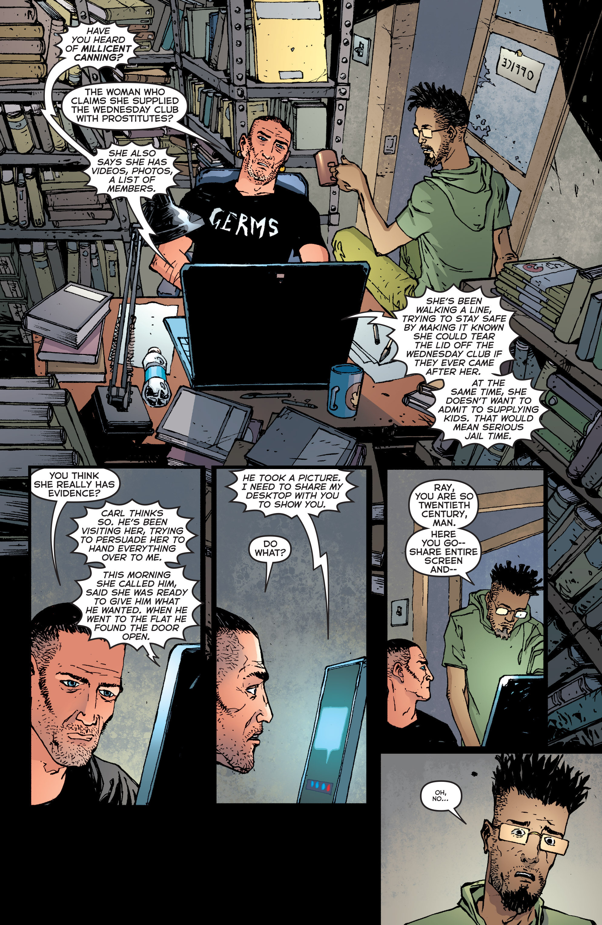 Read online Second Sight comic -  Issue #2 - 4
