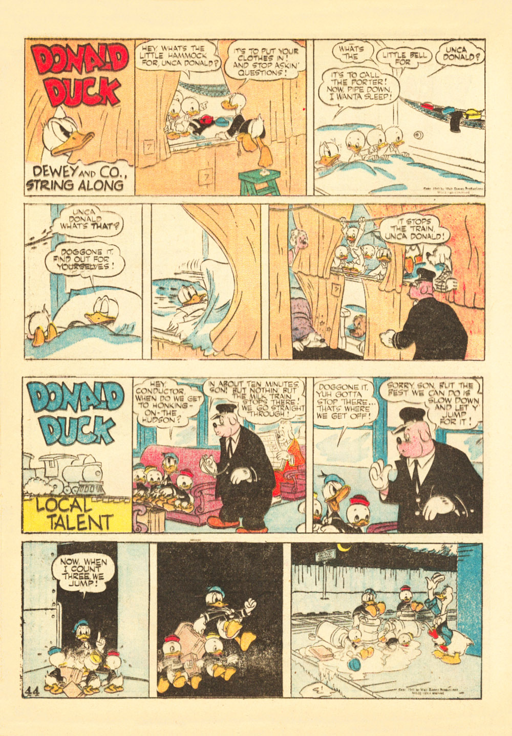 Walt Disney's Comics and Stories issue 38 - Page 46