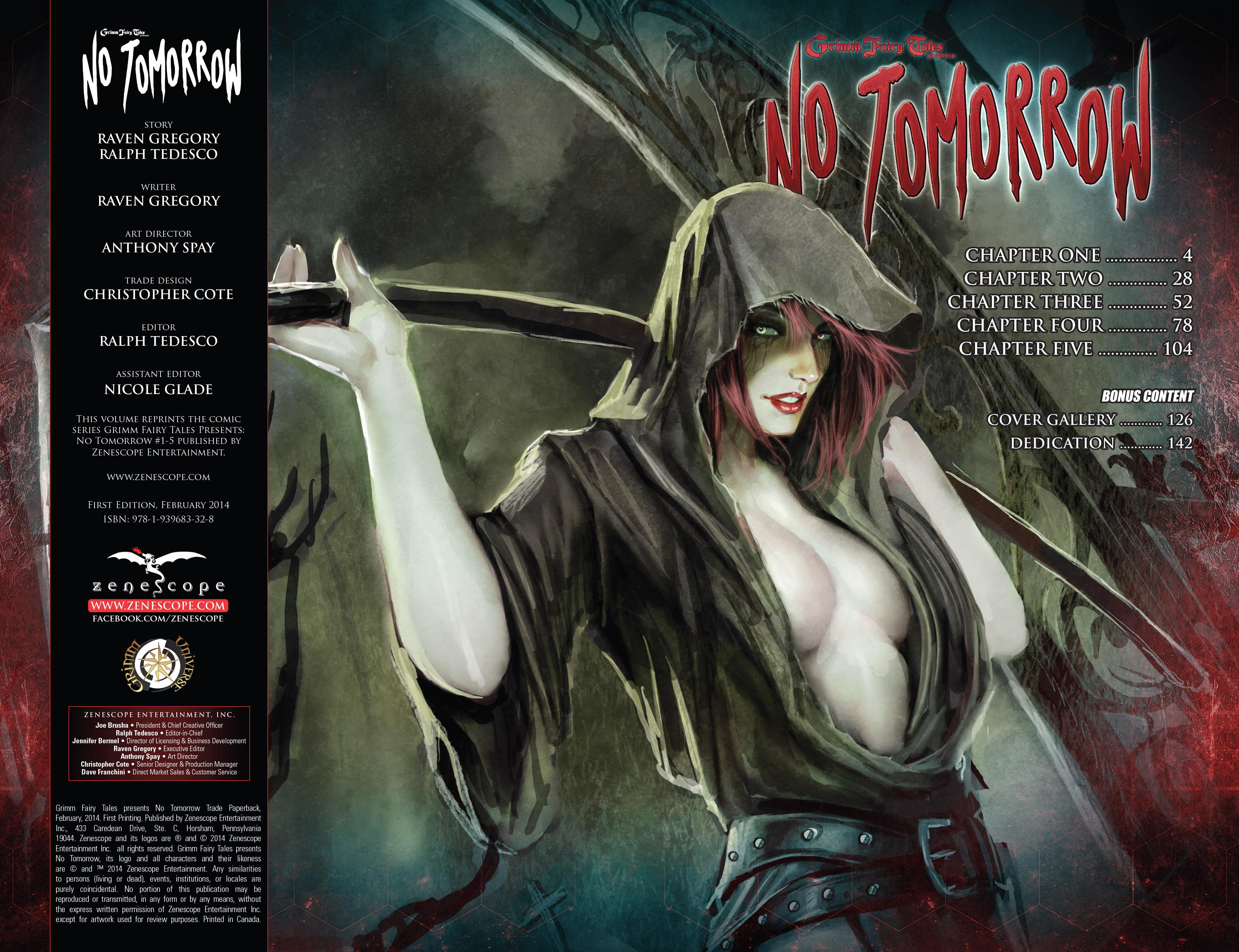 Read online Grimm Fairy Tales presents No Tomorrow comic -  Issue # TPB - 3