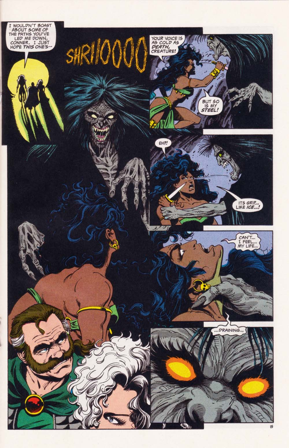 Read online Advanced Dungeons & Dragons comic -  Issue #34 - 15
