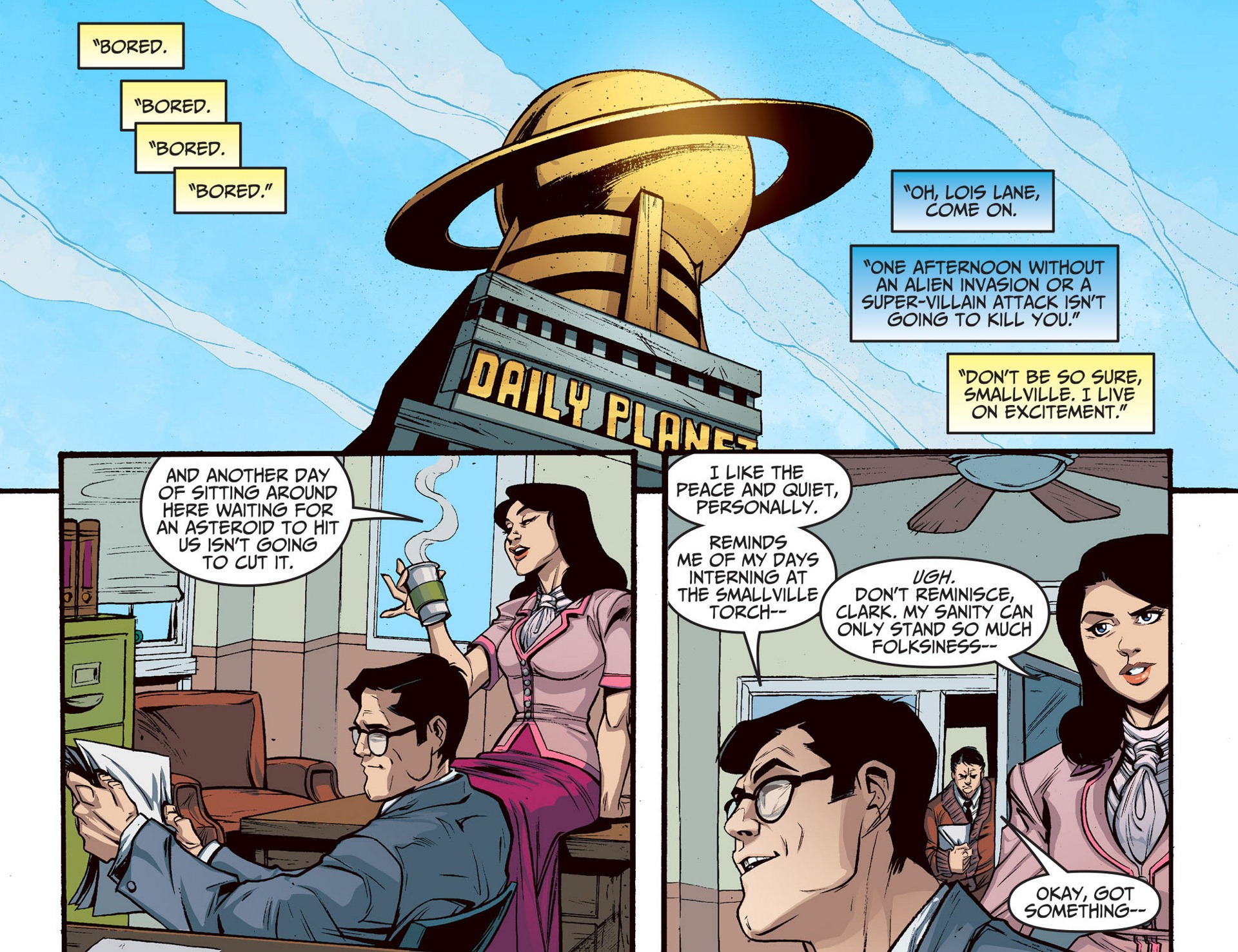 Read online Adventures of Superman [I] comic -  Issue #5 - 3