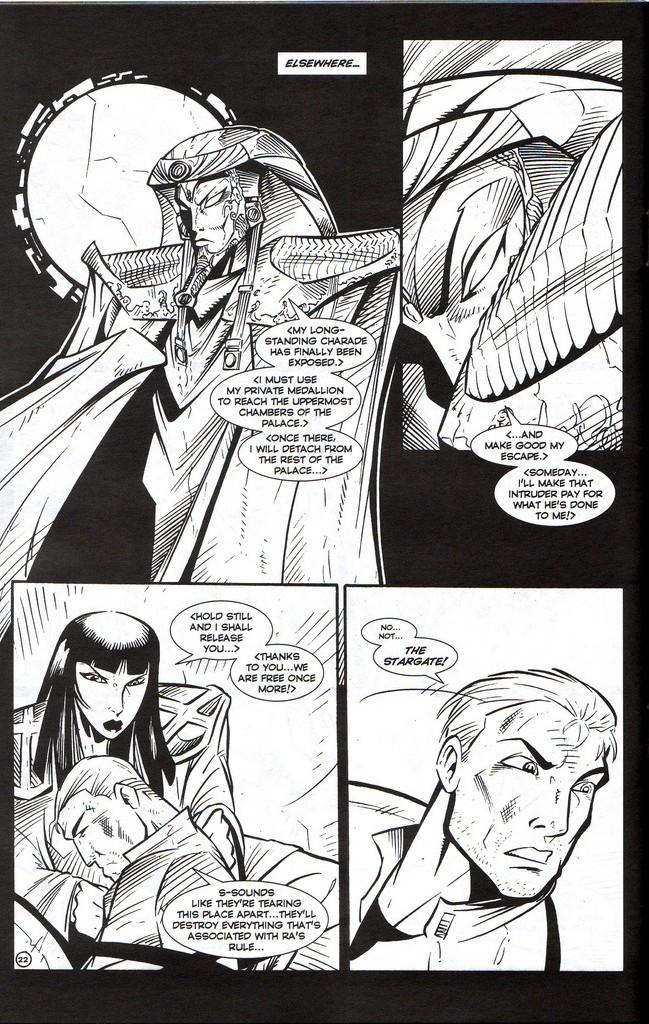 Read online Stargate: One Nation Under Ra comic -  Issue # Full - 24