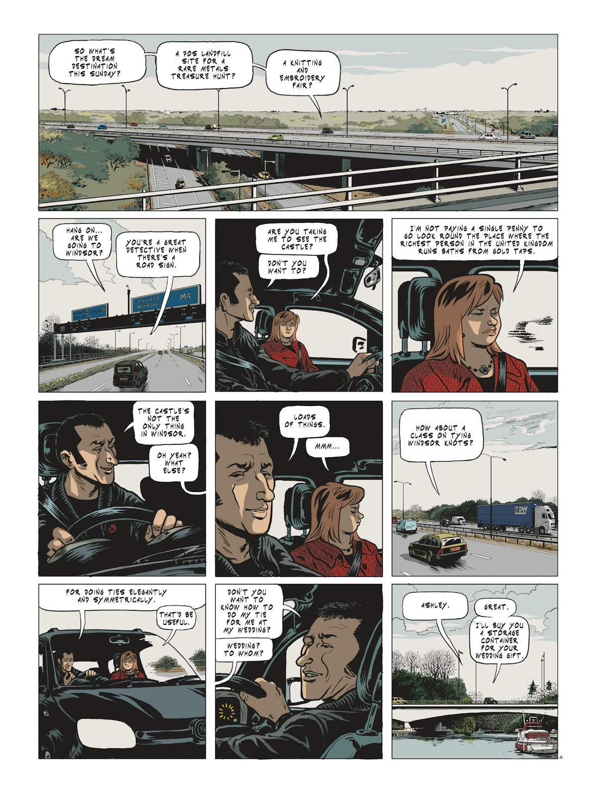 Read online Maggy Garrisson comic -  Issue #3 - 18