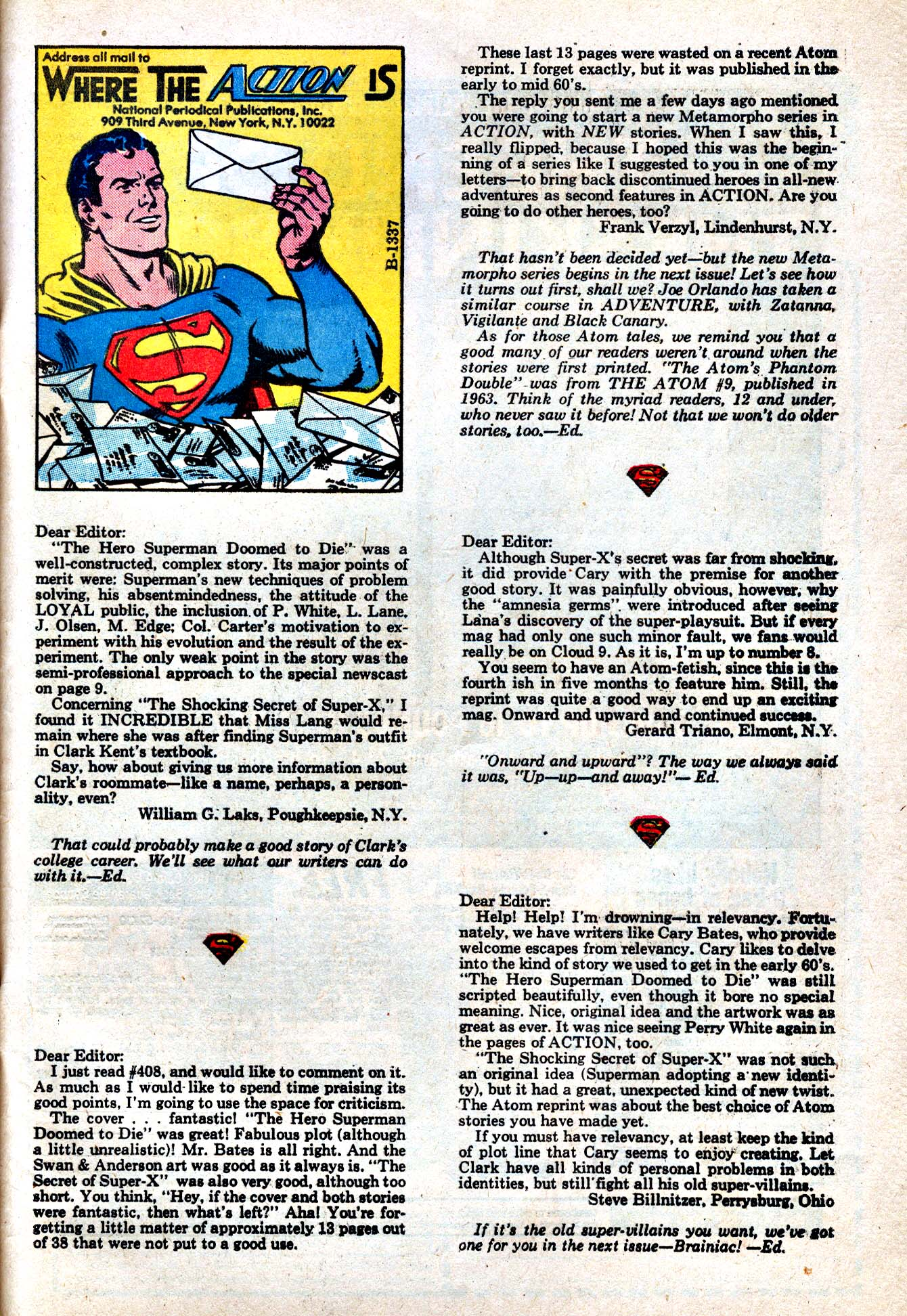 Read online Action Comics (1938) comic -  Issue #412 - 50