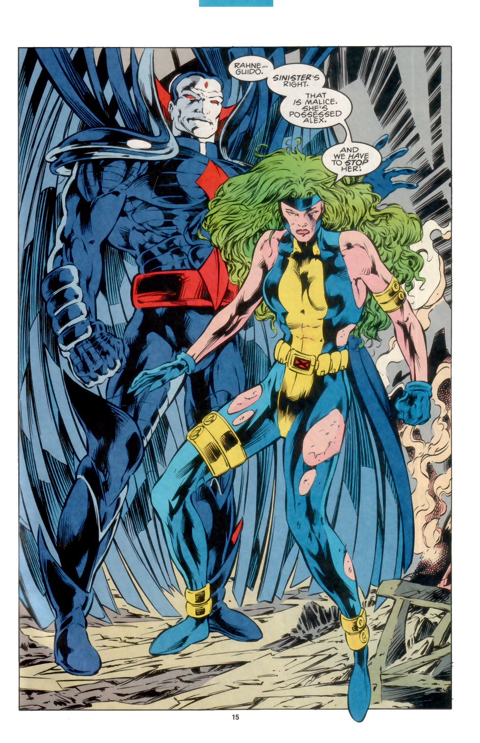 Read online X-Factor (1986) comic -  Issue #105 - 12