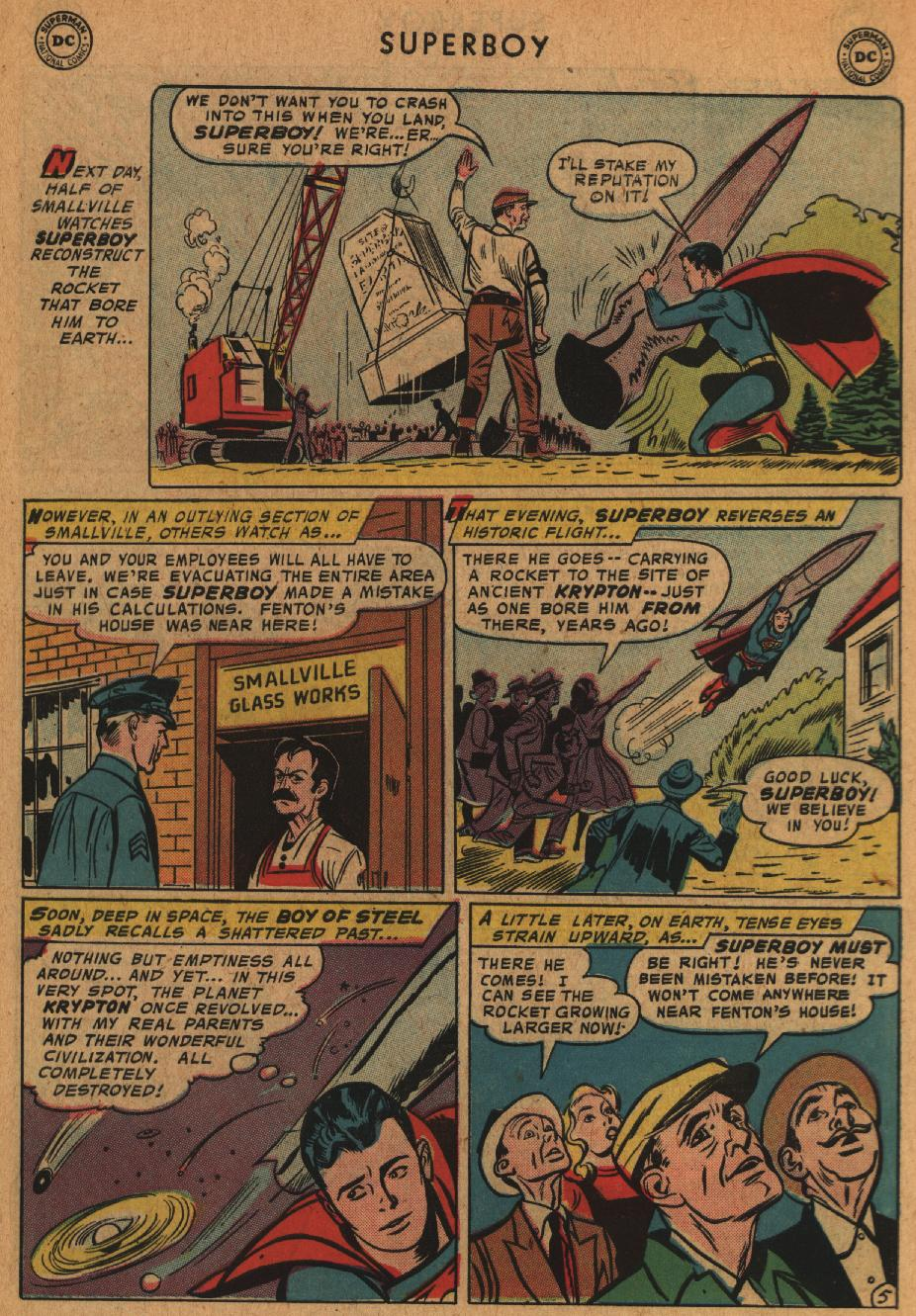 Superboy (1949) issue 63 - Page 6