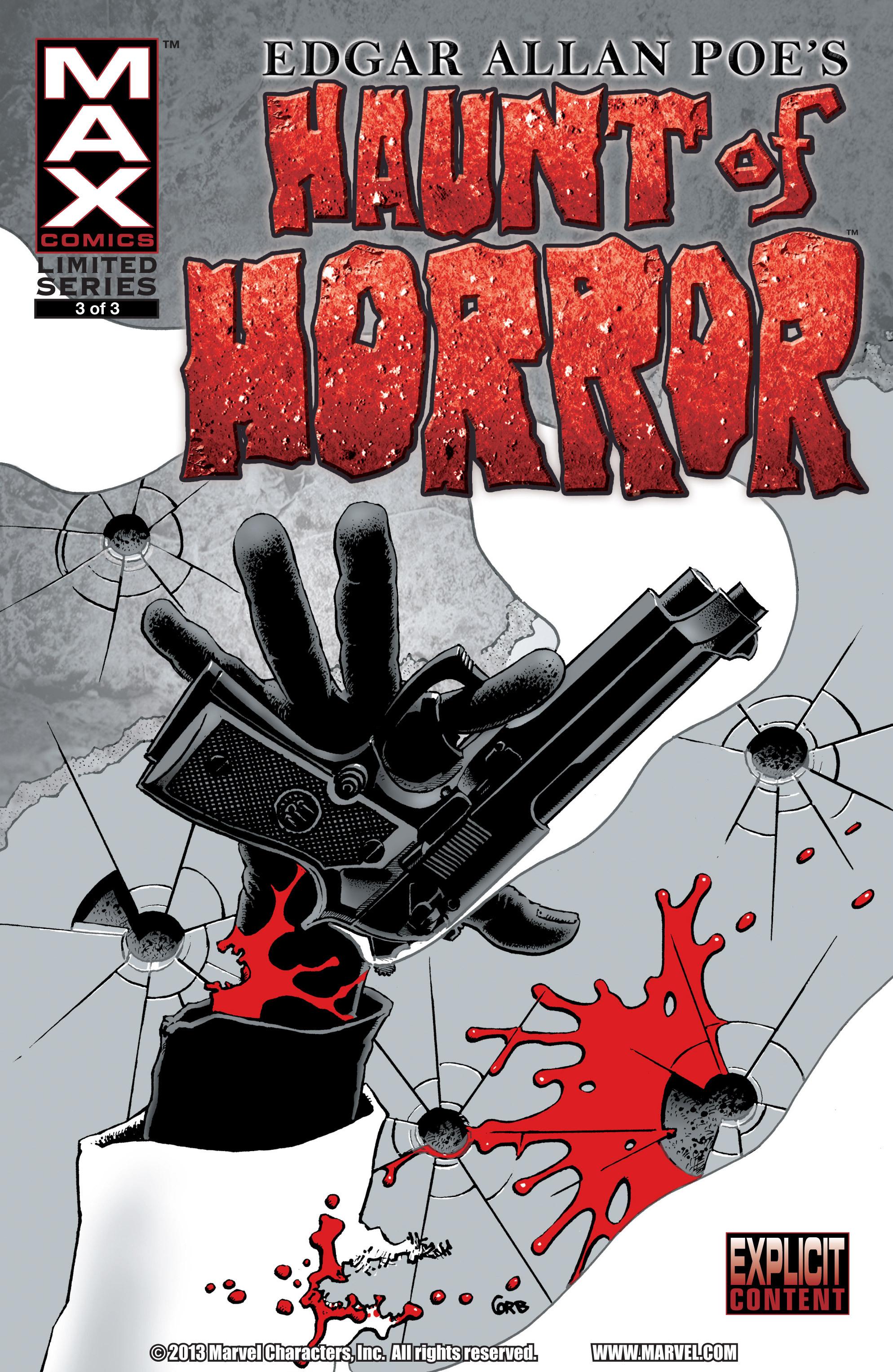 Read online Haunt of Horror: Edgar Allan Poe comic -  Issue #3 - 1