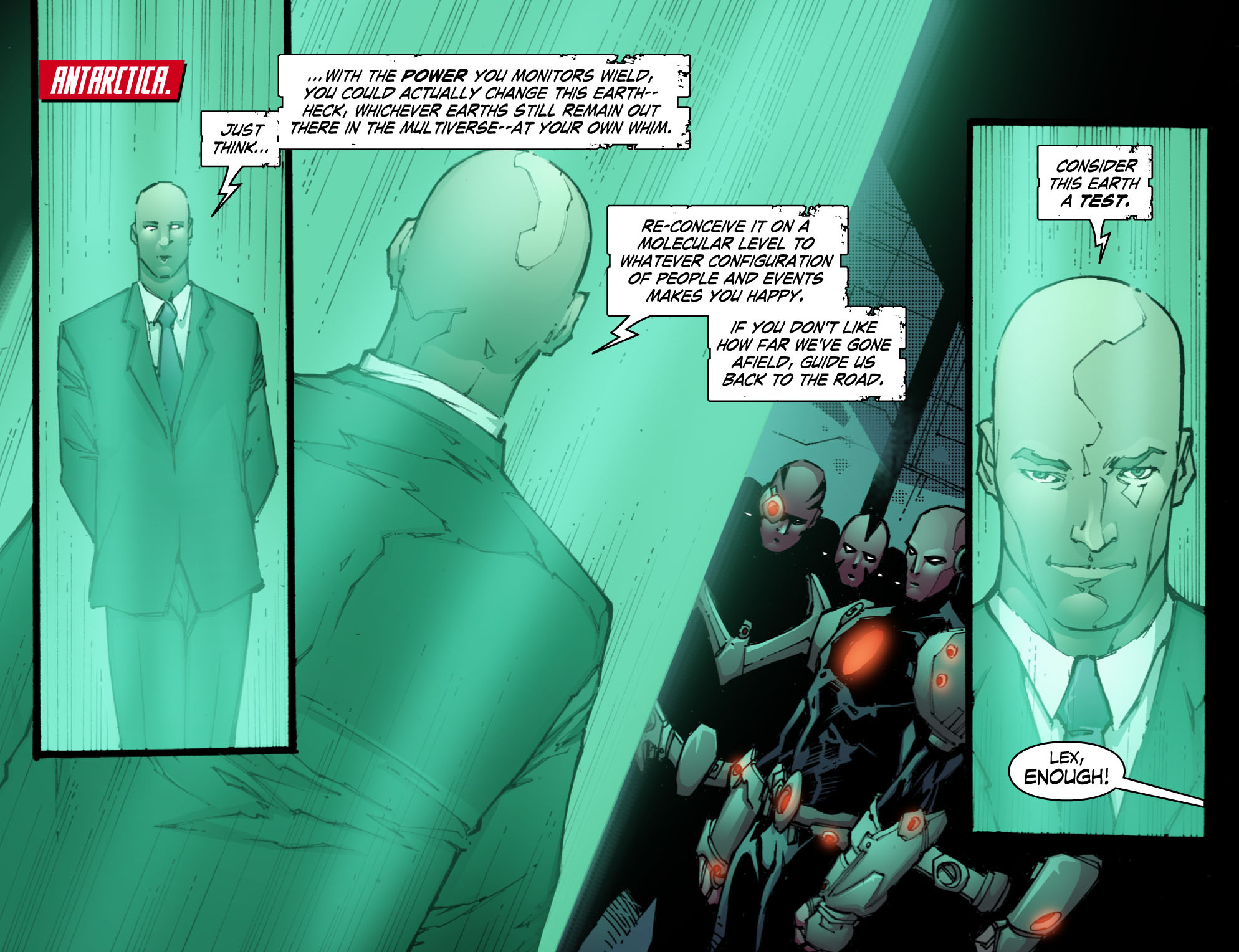 Read online Smallville: Chaos [II] comic -  Issue #10 - 17
