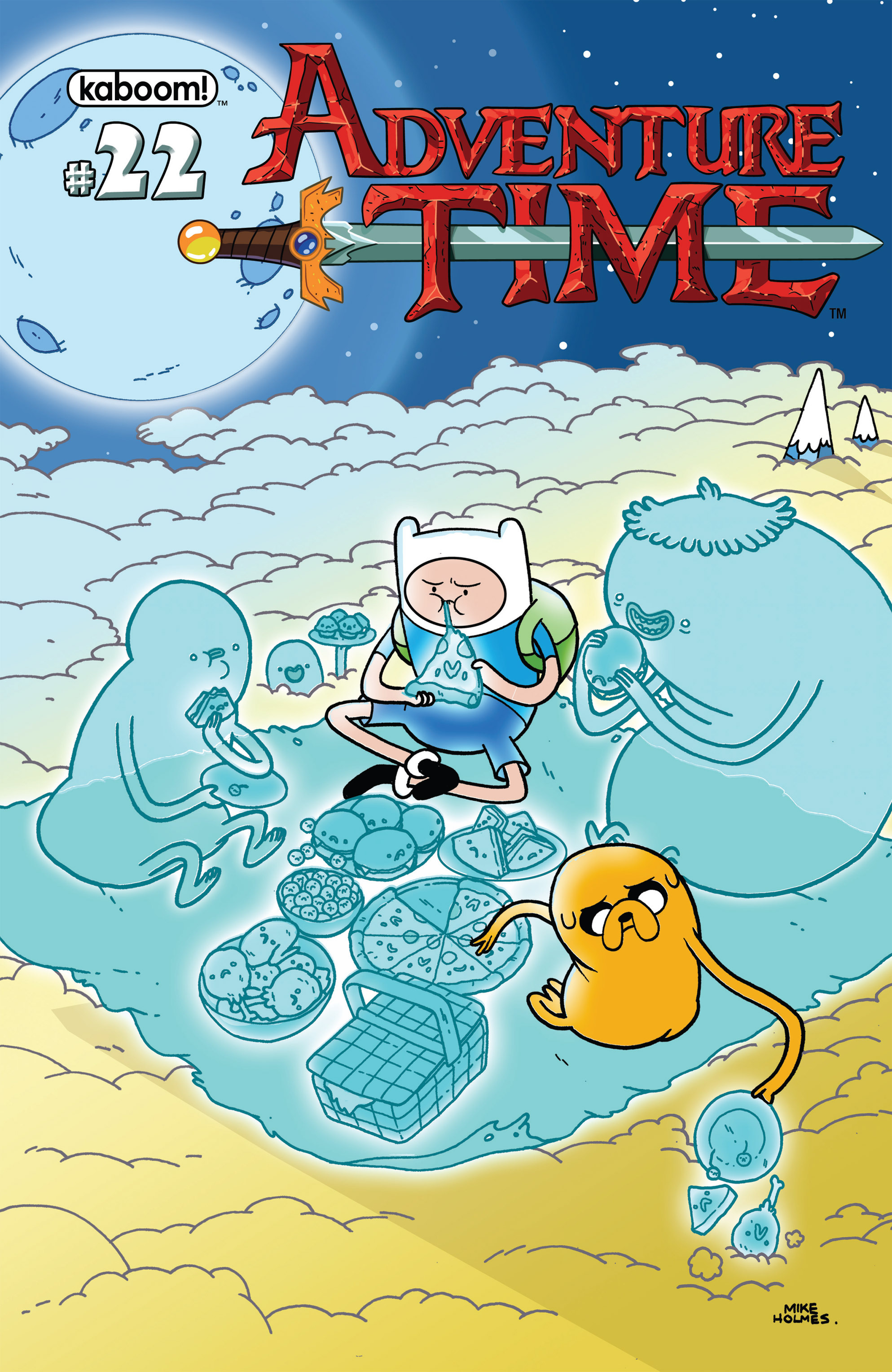 Adventure Time 22 Page 1
