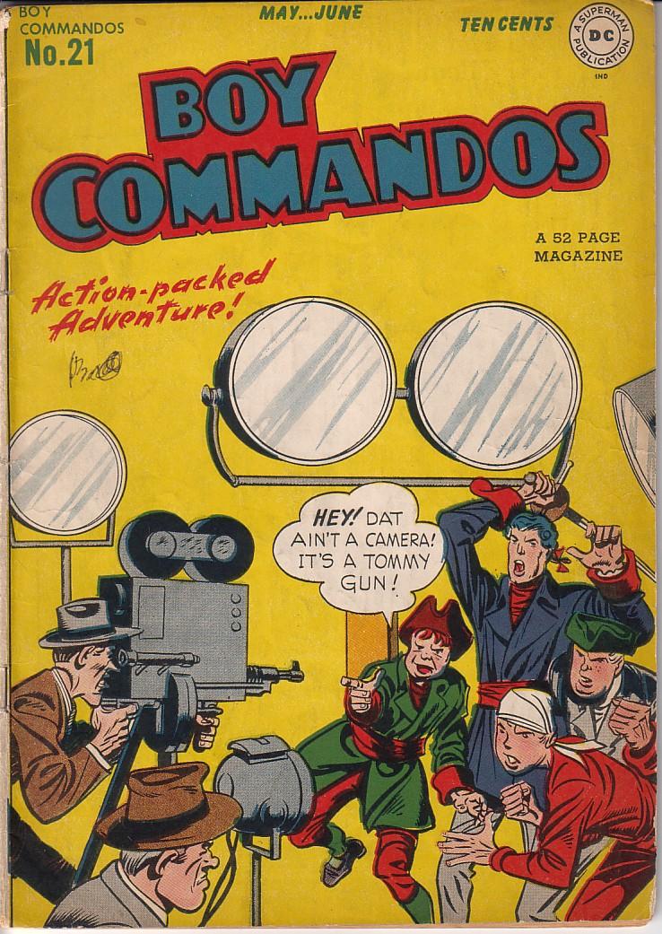 Boy Commandos 21 Page 1