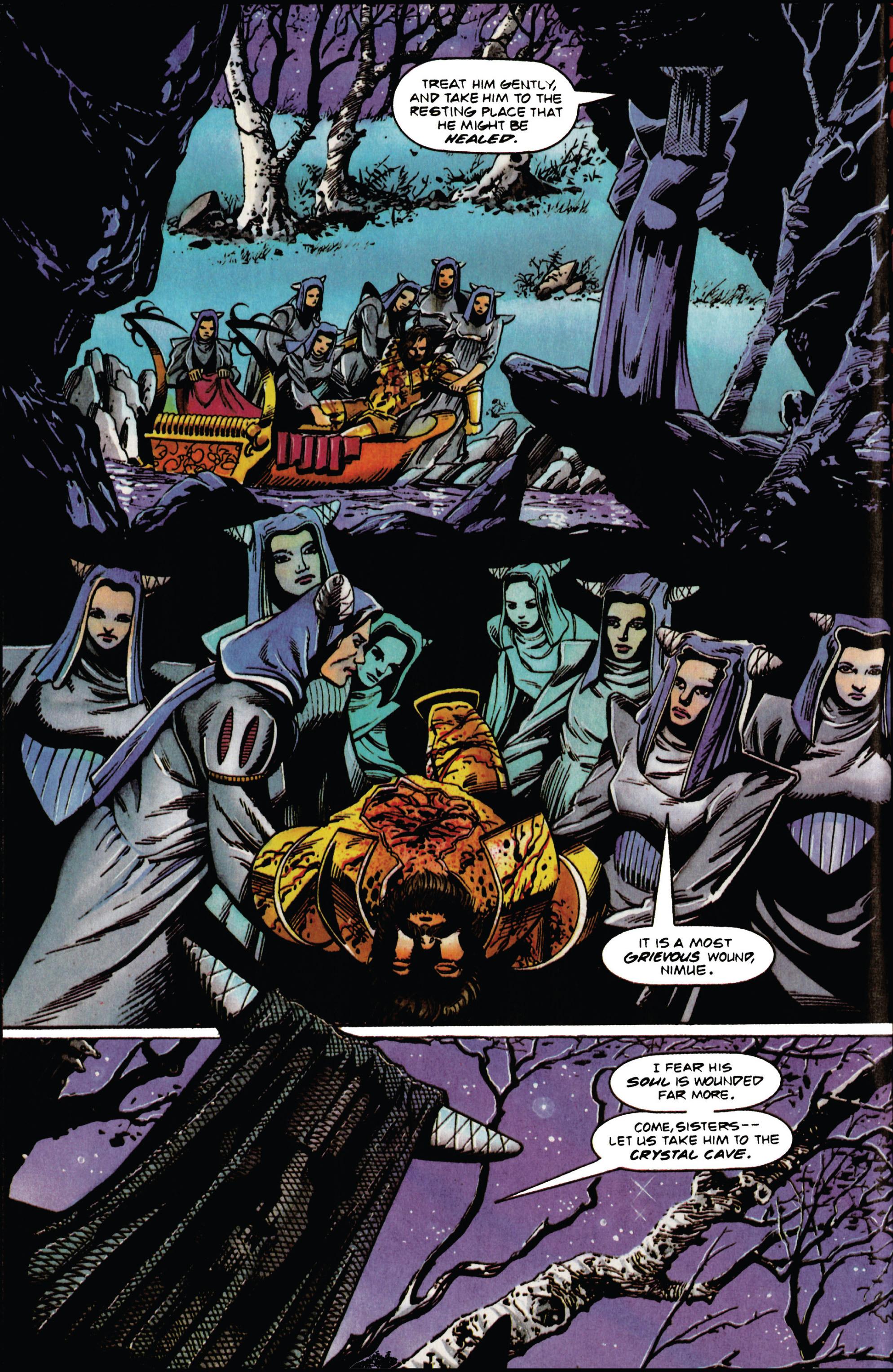 Read online Eternal Warrior (1992) comic -  Issue #31 - 3