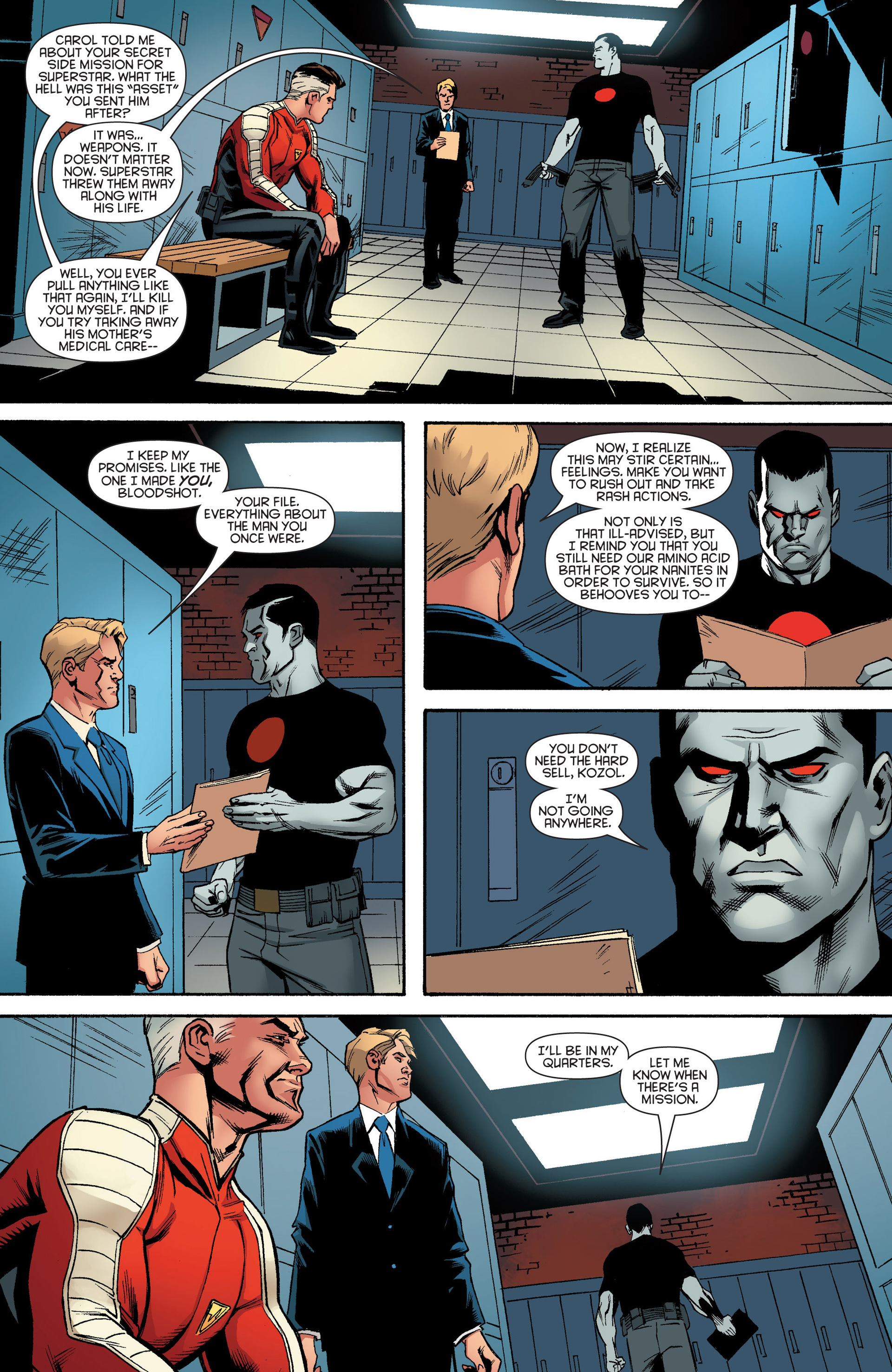 Read online Bloodshot and H.A.R.D.Corps comic -  Issue #17 - 23