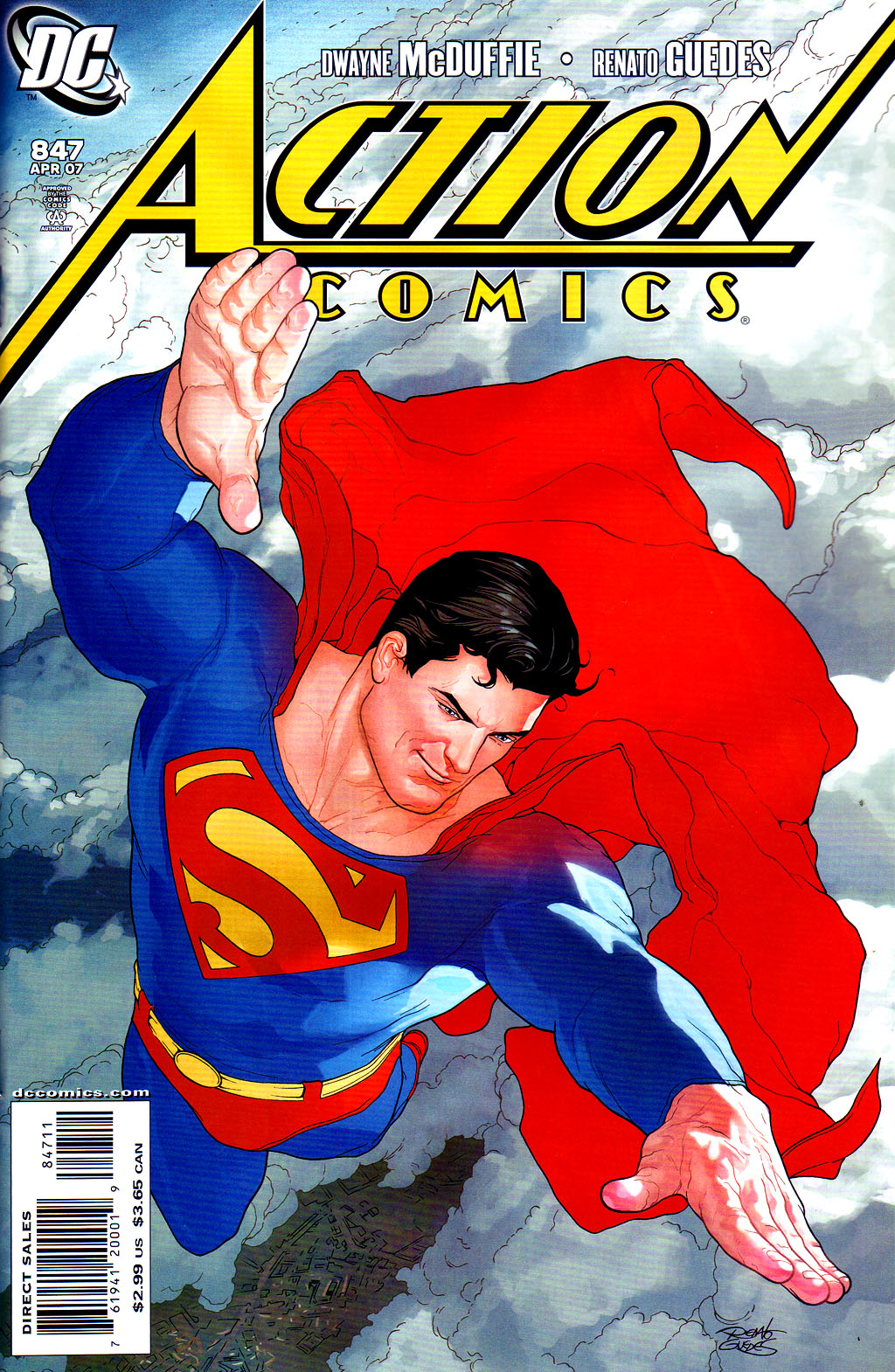 Read online Action Comics (1938) comic -  Issue #847 - 1