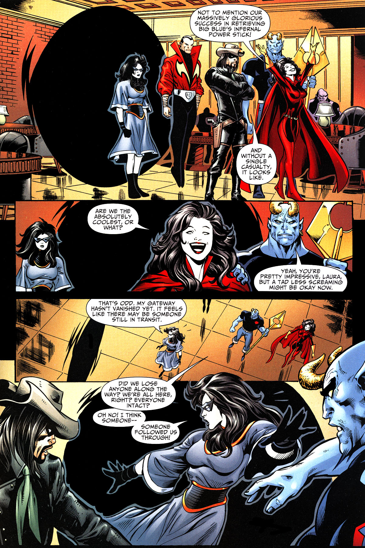 Read online Shadowpact comic -  Issue #11 - 18