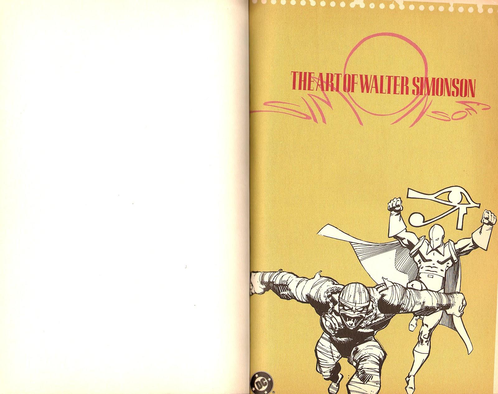 Read online The Art of Walter Simonson comic -  Issue # TPB - 2