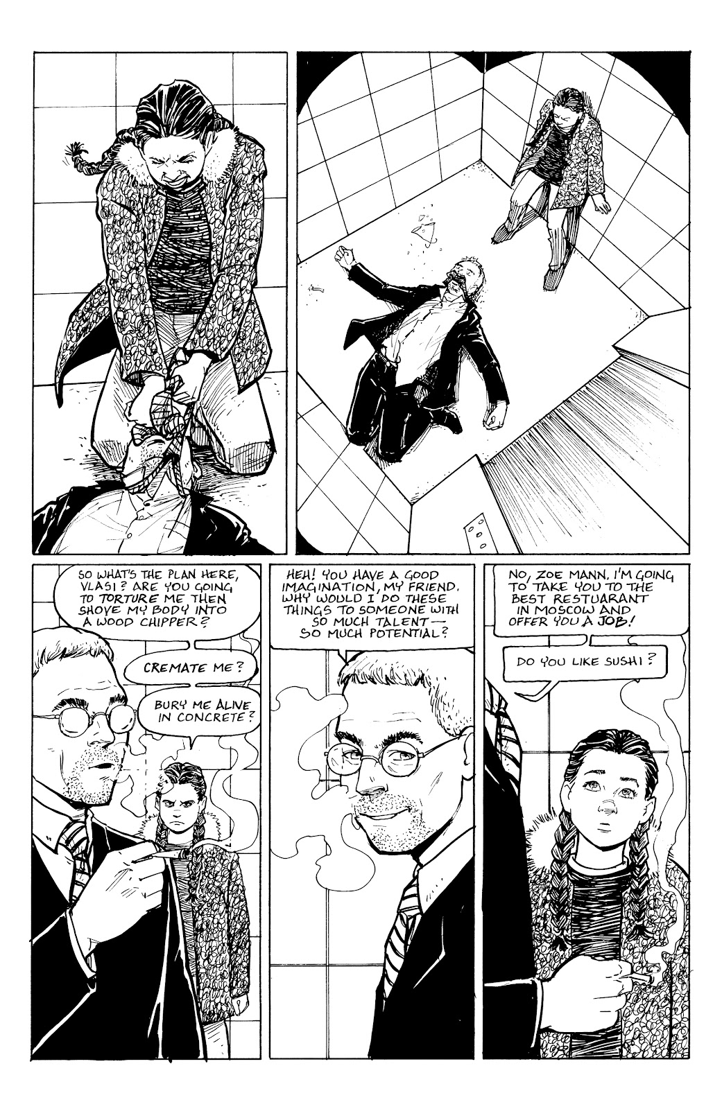 Read online Five Years comic -  Issue #5 - 14