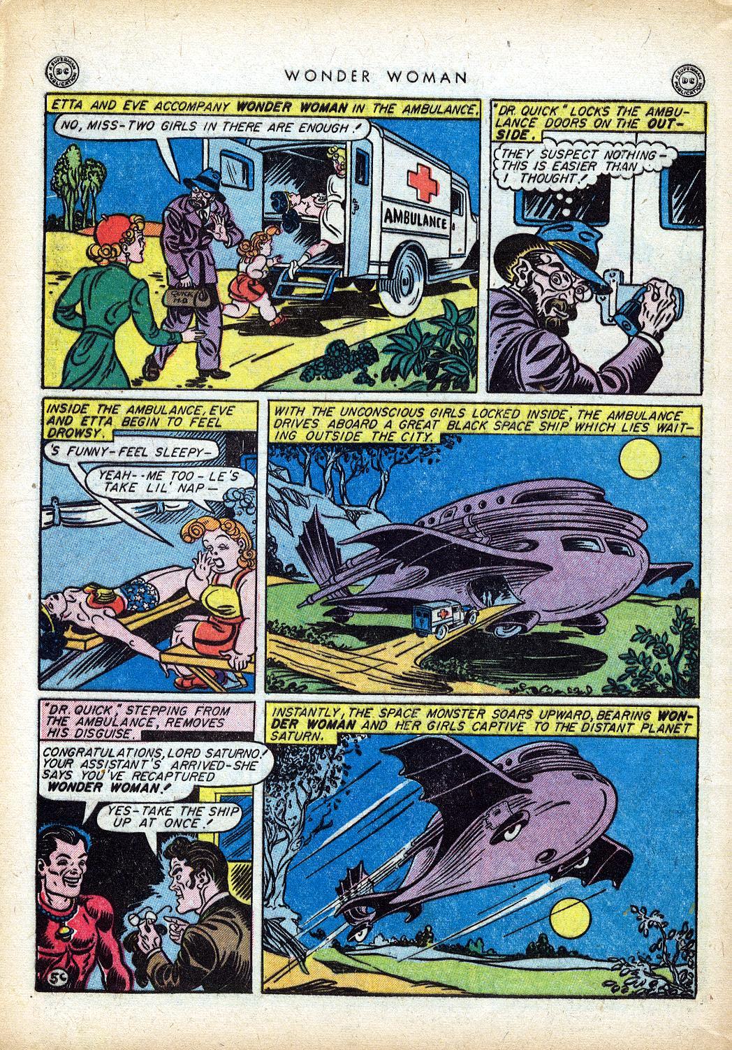 Read online Wonder Woman (1942) comic -  Issue #10 - 43