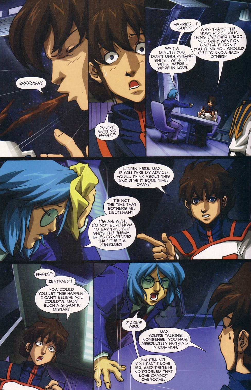 Read online Robotech: Love and War comic -  Issue #6 - 8