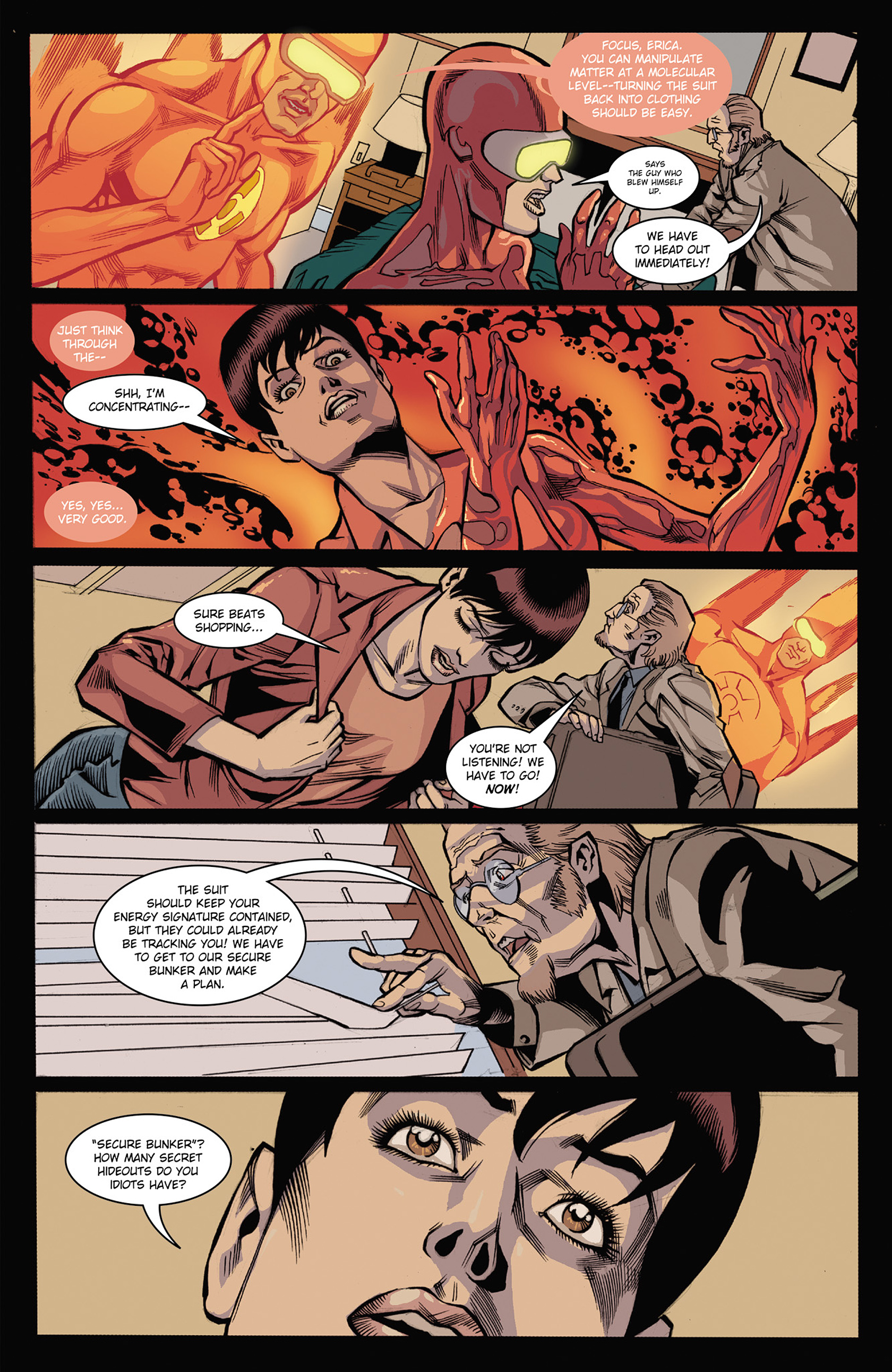 Read online Solar: Man of the Atom (2014) comic -  Issue #3 - 15