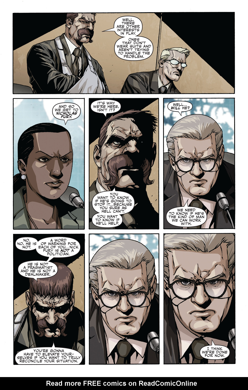 Read online Secret Warriors comic -  Issue #19 - 18