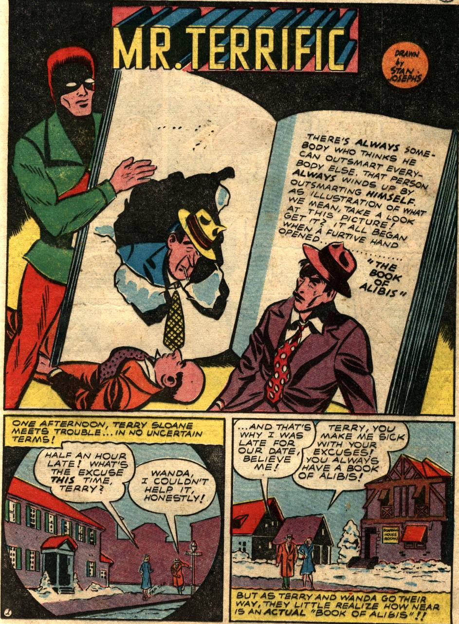 Read online Sensation (Mystery) Comics comic -  Issue #58 - 31