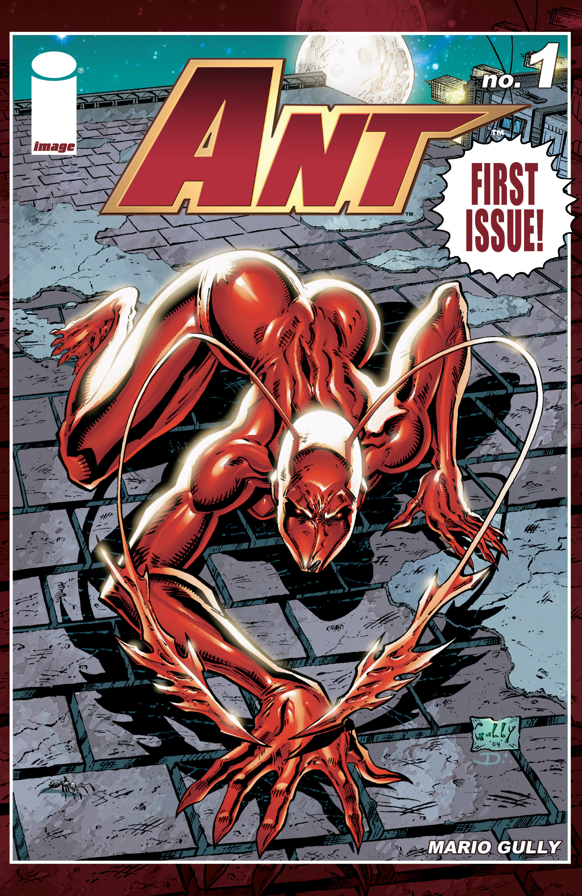 Read online Ant comic -  Issue #1 - 1