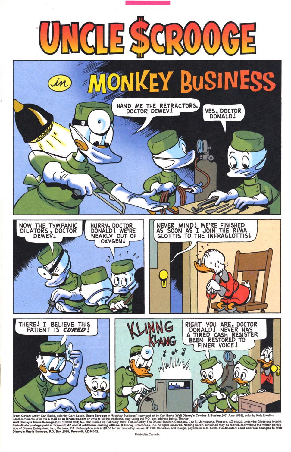 Read online Uncle Scrooge (1953) comic -  Issue #302 - 3