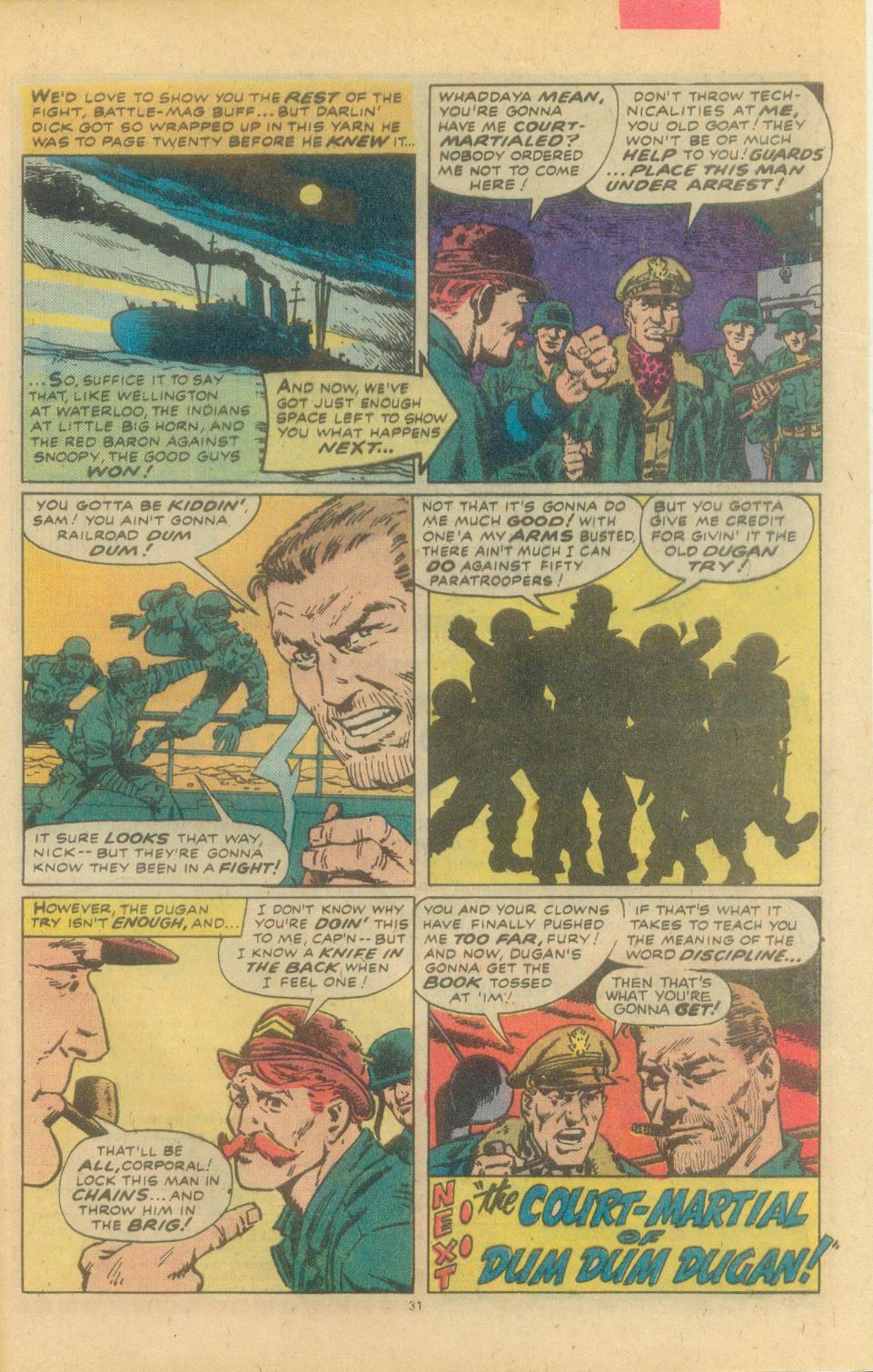 Read online Sgt. Fury comic -  Issue #155 - 33